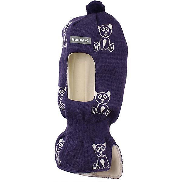 Шапка-шлем Huppa Kelda для девочкиГоловные уборы<br>Характеристики товара:<br><br>• модель: Kelda;<br>• цвет: фиолетовый;<br>• состав: 50% шерсть, 50% полиакрил;<br>• подкладка: 100% хлопок;<br>• сезон: зима;<br>• температурный режим: от +5 до - 30С;<br>• шапка с помпоном сверху;<br>• особенности: вязаная, шерстяная;<br>• страна бренда: Финляндия;<br>• страна изготовитель: Эстония.<br><br>Шапка-шлем Хуппа с помпоном. Подкладка выполнена из хлопкового трикотажа, наружная ткань - это 50% мериносовой шерсти и 50% акриловой пряжи. Шапка-шлем идеальна для ношения в зимние холода, потому что защищает шею и уши ребенка от холодного ветра.<br><br>Шапку-шлем Huppa Kelda (Хуппа) можно купить в нашем интернет-магазине.<br>Ширина мм: 89; Глубина мм: 117; Высота мм: 44; Вес г: 155; Цвет: лиловый; Возраст от месяцев: 36; Возраст до месяцев: 72; Пол: Женский; Возраст: Детский; Размер: 51-53,43-45,47-49; SKU: 7029393;