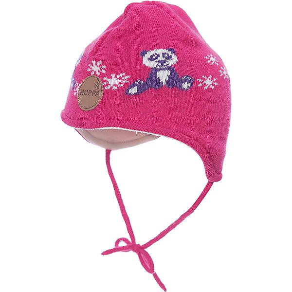 Шапка Huppa Karro 1Зимние<br>Характеристики товара:<br><br>• модель: Karro 1;<br>• цвет: розовый:<br>• состав: шапка: 100% акрил; <br>• подкладка: 100% хлопок:<br>• утеплитель: 40 г/м2;<br>• сезон: зима<br>• температурный режим: от 0°С до -20°С;<br>• шапка на завязках;<br>• особенности: вязаная;<br>• страна бренда: Финляндия;<br>• страна изготовитель: Эстония.<br><br>Вязаная детская шапка Karro 1. Теплая вязанная шапочка, прекрасно подойдет для повседневных прогулок в холодную погоду. Шапка на мягкий завязках, не травмирующих нежную кожу.<br><br>Шапку Huppa Karro 1 (Хуппа) можно купить в нашем интернет-магазине.<br><br>Ширина мм: 89<br>Глубина мм: 117<br>Высота мм: 44<br>Вес г: 155<br>Цвет: фуксия<br>Возраст от месяцев: 36<br>Возраст до месяцев: 72<br>Пол: Унисекс<br>Возраст: Детский<br>Размер: 43-45,47-49,51-53<br>SKU: 7029432