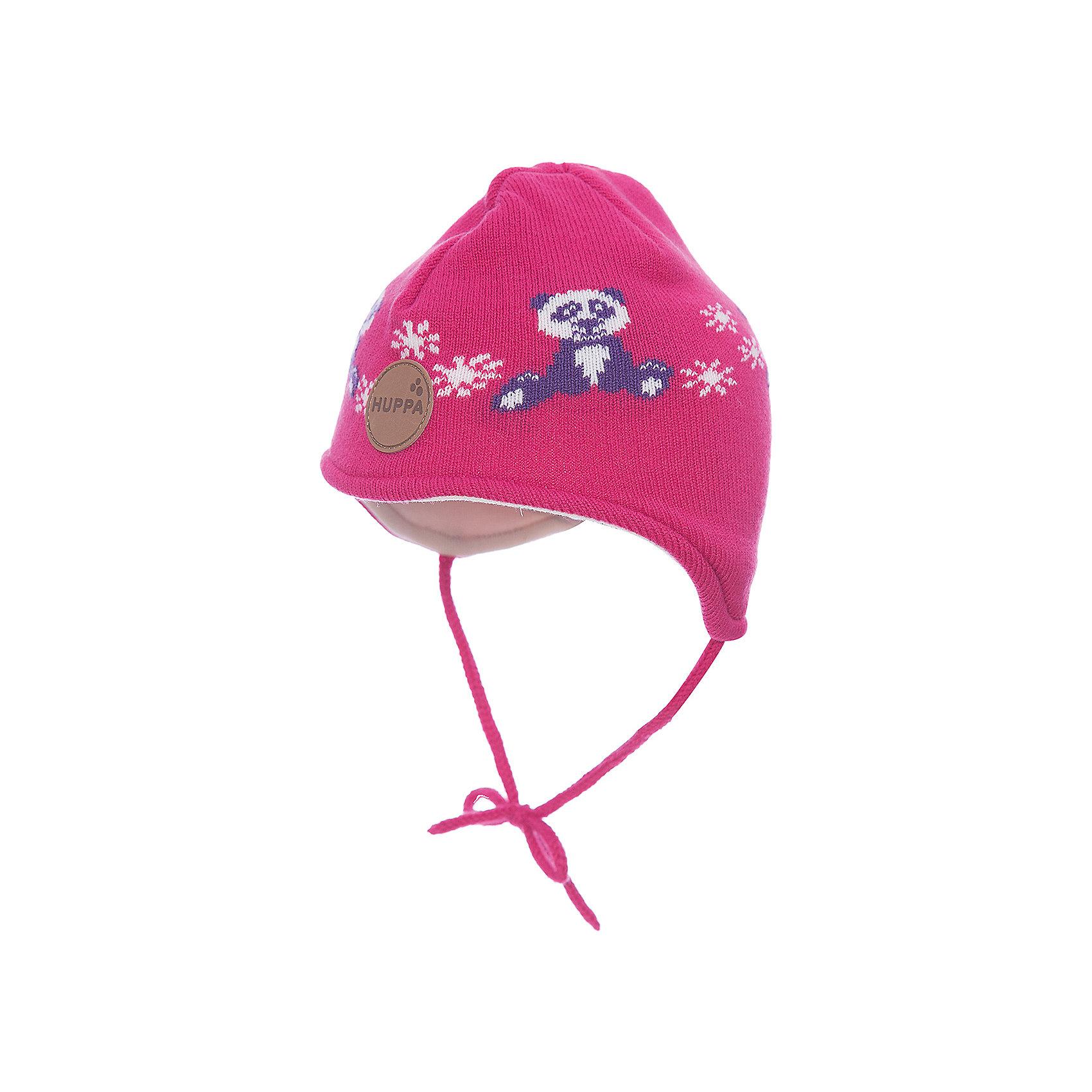 Шапка Huppa Karro 1Головные уборы<br>Характеристики товара:<br><br>• модель: Karro 1;<br>• цвет: розовый:<br>• состав: шапка: 100% акрил; <br>• подкладка: 100% хлопок:<br>• утеплитель: 40 г/м2;<br>• сезон: зима<br>• температурный режим: от 0°С до -20°С;<br>• шапка на завязках;<br>• особенности: вязаная;<br>• страна бренда: Финляндия;<br>• страна изготовитель: Эстония.<br><br>Вязаная детская шапка Karro 1. Теплая вязанная шапочка, прекрасно подойдет для повседневных прогулок в холодную погоду. Шапка на мягкий завязках, не травмирующих нежную кожу.<br><br>Шапку Huppa Karro 1 (Хуппа) можно купить в нашем интернет-магазине.<br><br>Ширина мм: 89<br>Глубина мм: 117<br>Высота мм: 44<br>Вес г: 155<br>Цвет: фуксия<br>Возраст от месяцев: 3<br>Возраст до месяцев: 12<br>Пол: Унисекс<br>Возраст: Детский<br>Размер: 43-45,51-53,47-49<br>SKU: 7029432