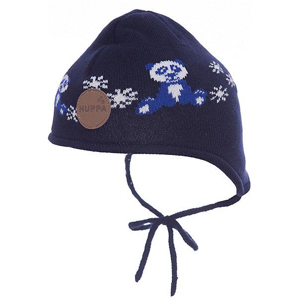 Шапка Huppa Karro 1 для мальчикаГоловные уборы<br>Характеристики товара:<br><br>• модель: Karro 1;<br>• цвет: темно-синий;<br>• состав: шапка: 100% акрил; <br>• подкладка: 100% хлопок:<br>• утеплитель: 40 г/м2;<br>• сезон: зима<br>• температурный режим: от 0°С до -20°С;<br>• шапка на завязках;<br>• особенности: вязаная;<br>• страна бренда: Финляндия;<br>• страна изготовитель: Эстония.<br><br>Вязаная детская шапка Karro 1. Теплая вязанная шапочка, прекрасно подойдет для повседневных прогулок в холодную погоду. Шапка на мягкий завязках, не травмирующих нежную кожу.<br><br>Шапку Huppa Karro 1 (Хуппа) можно купить в нашем интернет-магазине.<br><br>Ширина мм: 89<br>Глубина мм: 117<br>Высота мм: 44<br>Вес г: 155<br>Цвет: синий<br>Возраст от месяцев: 36<br>Возраст до месяцев: 72<br>Пол: Мужской<br>Возраст: Детский<br>Размер: 51-53,43-45,47-49<br>SKU: 7029436