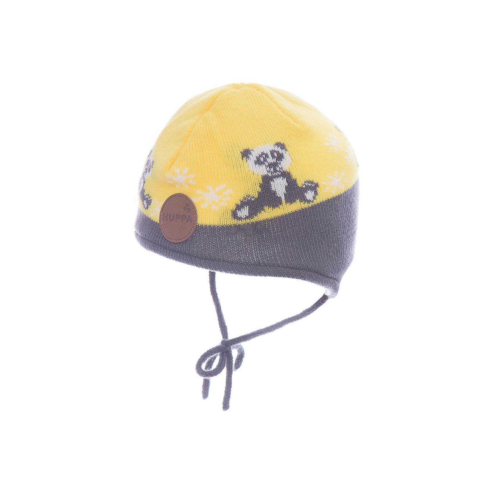 Шапка Huppa Karro 1Зимние<br>Характеристики товара:<br><br>• модель: Karro 1;<br>• цвет: желтый/серый;<br>• состав: шапка: 100% акрил; <br>• подкладка: 100% хлопок:<br>• утеплитель: 40 г/м2;<br>• сезон: зима<br>• температурный режим: от 0°С до -20°С;<br>• шапка на завязках;<br>• особенности: вязаная;<br>• страна бренда: Финляндия;<br>• страна изготовитель: Эстония.<br><br>Вязаная детская шапка Karro 1. Теплая вязанная шапочка, прекрасно подойдет для повседневных прогулок в холодную погоду. Шапка на мягкий завязках, не травмирующих нежную кожу.<br><br>Шапку Huppa Karro 1 (Хуппа) можно купить в нашем интернет-магазине.<br><br>Ширина мм: 89<br>Глубина мм: 117<br>Высота мм: 44<br>Вес г: 155<br>Цвет: желтый<br>Возраст от месяцев: 3<br>Возраст до месяцев: 12<br>Пол: Унисекс<br>Возраст: Детский<br>Размер: 51-53,47-49,43-45<br>SKU: 7029440