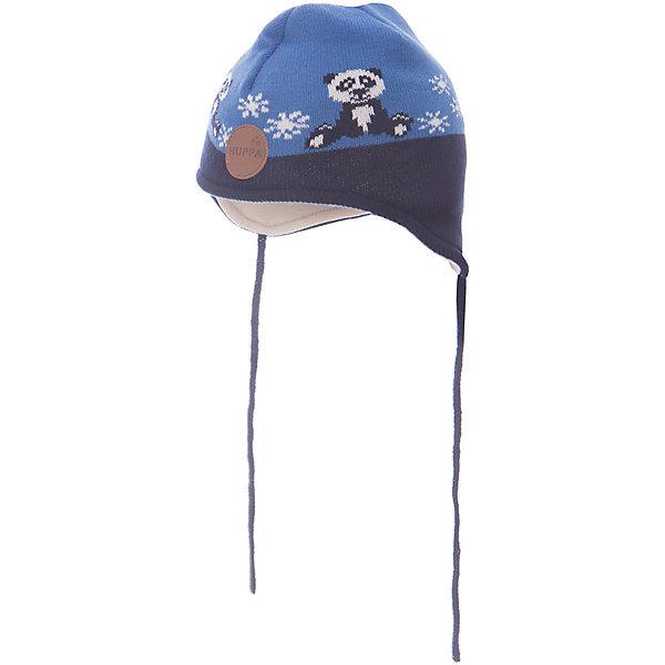 Шапка Huppa Karro 1 для мальчикаЗимние<br>Характеристики товара:<br><br>• модель: Karro 1;<br>• цвет: синий;<br>• состав: шапка: 100% акрил; <br>• подкладка: 100% хлопок:<br>• утеплитель: 40 г/м2;<br>• сезон: зима<br>• температурный режим: от 0°С до -20°С;<br>• шапка на завязках;<br>• особенности: вязаная;<br>• страна бренда: Финляндия;<br>• страна изготовитель: Эстония.<br><br>Вязаная детская шапка Karro 1. Теплая вязанная шапочка, прекрасно подойдет для повседневных прогулок в холодную погоду. Шапка на мягкий завязках, не травмирующих нежную кожу.<br><br>Шапку Huppa Karro 1 (Хуппа) можно купить в нашем интернет-магазине.<br>Ширина мм: 89; Глубина мм: 117; Высота мм: 44; Вес г: 155; Цвет: синий; Возраст от месяцев: 36; Возраст до месяцев: 72; Пол: Мужской; Возраст: Детский; Размер: 51-53,43-45,47-49; SKU: 7029444;
