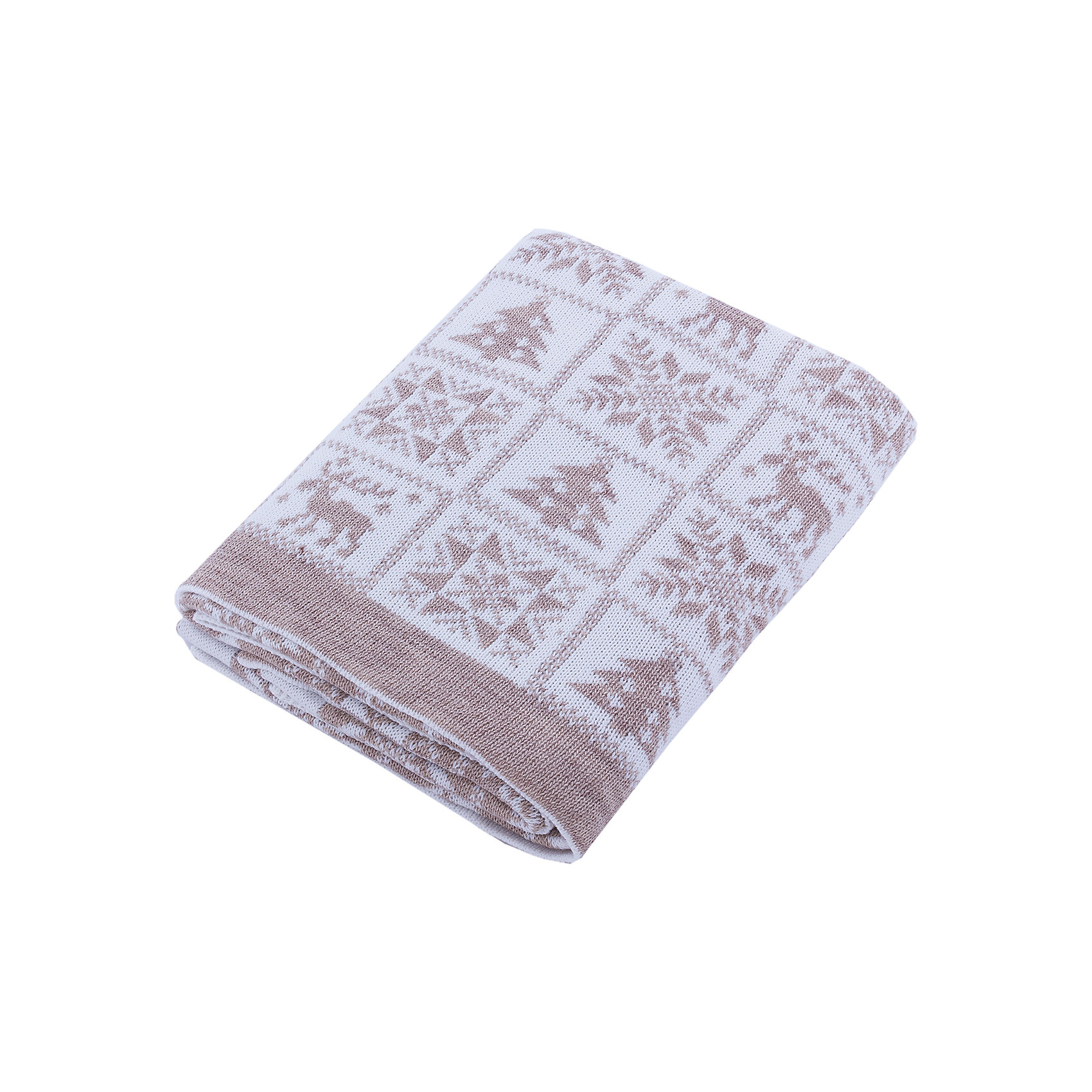 Плед Рождество Уси-ПусиПледы и одеяла<br>Характеристики товара:<br><br>• цвет: бежевый;<br>• ткань: вязаная;<br>• состав ткани: 50% шерсть, 50% пан;<br>• размер : 110х140 см;<br>• особенности модели: вязаная, с рисунком;<br>• сезон: демисезон;<br>• страна бренда: Россия;<br>• страна изготовитель: Россия.<br> <br>Полушерстяной вязанный плед «Рождество» будет прекрасным дополнением в гардеробе Вашего малыша в любое время года. <br><br>Ровная машинная вязка с рождественским детским рисунком напомнит лучшие детские мгновения, порадует Вас и малыша теплотой и простотой по уходу за изделием. Пледом можно прикрыть спящего малыша дома, на улице или в машине. <br><br>Вязанный плед «Рождество»  Уси-Пуси можно купить в нашем интернет-магазине.<br><br>Ширина мм: 37<br>Глубина мм: 4<br>Высота мм: 25<br>Вес г: 430<br>Цвет: бежевый<br>Возраст от месяцев: 0<br>Возраст до месяцев: 24<br>Пол: Унисекс<br>Возраст: Детский<br>Размер: one size<br>SKU: 7029552