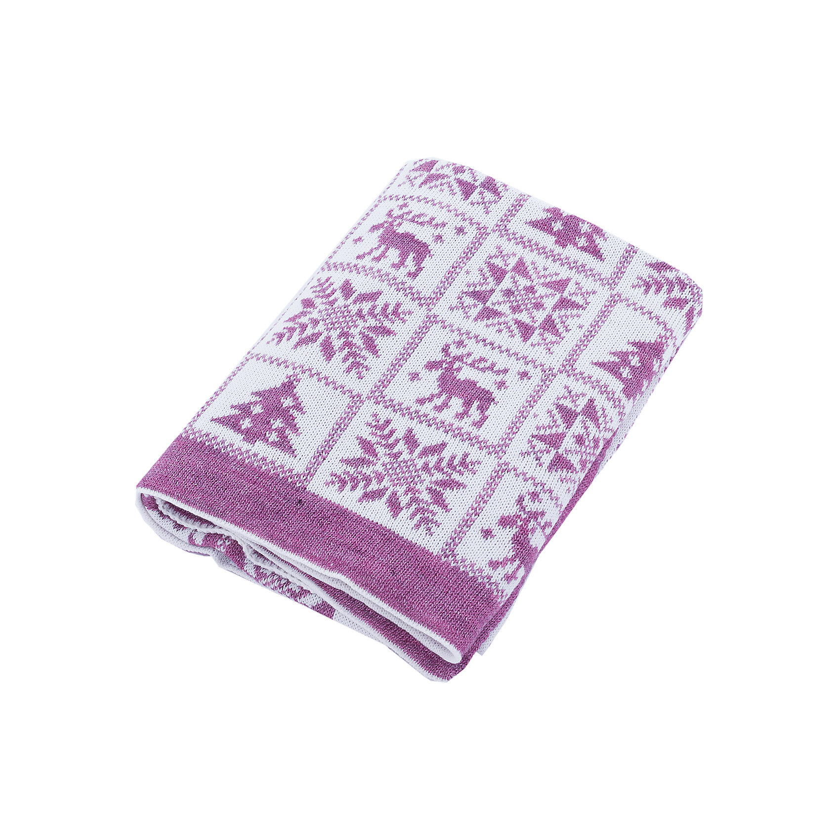 Плед Рождество Уси-ПусиПледы и одеяла<br>Характеристики товара:<br><br>• цвет: сиреневый;<br>• ткань: вязаная;<br>• состав ткани: 50% шерсть, 50% пан;<br>• размер : 110х140 см;<br>• особенности модели: вязаная, с рисунком;<br>• сезон: демисезон;<br>• страна бренда: Россия;<br>• страна изготовитель: Россия.<br> <br>Полушерстяной вязанный плед «Рождество» будет прекрасным дополнением в гардеробе Вашего малыша в любое время года. <br><br>Ровная машинная вязка с рождественским детским рисунком напомнит лучшие детские мгновения, порадует Вас и малыша теплотой и простотой по уходу за изделием. Пледом можно прикрыть спящего малыша дома, на улице или в машине. <br><br>Вязанный плед «Рождество»  Уси-Пуси можно купить в нашем интернет-магазине.<br><br>Ширина мм: 37<br>Глубина мм: 4<br>Высота мм: 25<br>Вес г: 430<br>Цвет: лиловый<br>Возраст от месяцев: 0<br>Возраст до месяцев: 24<br>Пол: Унисекс<br>Возраст: Детский<br>Размер: one size<br>SKU: 7029568