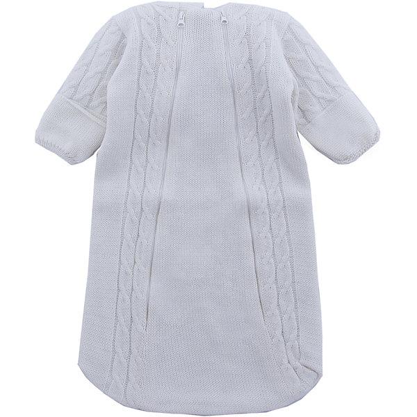 Комбинезон (конверт)  Косы Уси-ПусиФлис и термобелье<br>Характеристики товара:<br><br>• цвет: молочный;<br>• ткань: вязаная;<br>• состав ткани: 50% шерсть, 50% пан, внутр. слой 100%хлопок;<br>• утеплитель: без утеплителя;<br>• вид застежки: на молнии;<br>• особенности модели: вязаная, с рисунком;<br>• сезон: демисезон;<br>• страна бренда: Россия;<br>• страна изготовитель: Россия.<br><br>Вязаный конветр для новородженных с подкладкой из 100% хлопка отлично подойдет для выписки из роддома.<br><br>Верхняя ткань выполнена из нитей шерсти и ПАНа. Его можно использовать круглый год: зимой под зимний конветр, а летом при прохладной погоде. Наличие двух молний на конверте позволяют быстро одеть ребенка на прогулку или переодеть малыша при необходимости. <br><br>Вязаный конветр «Косы» Уси-Пуси можно купить в нашем интернет-магазине.<br>Ширина мм: 157; Глубина мм: 13; Высота мм: 119; Вес г: 200; Цвет: белый; Возраст от месяцев: 0; Возраст до месяцев: 3; Пол: Унисекс; Возраст: Детский; Размер: 50/56,56/62,62/68; SKU: 7029636;