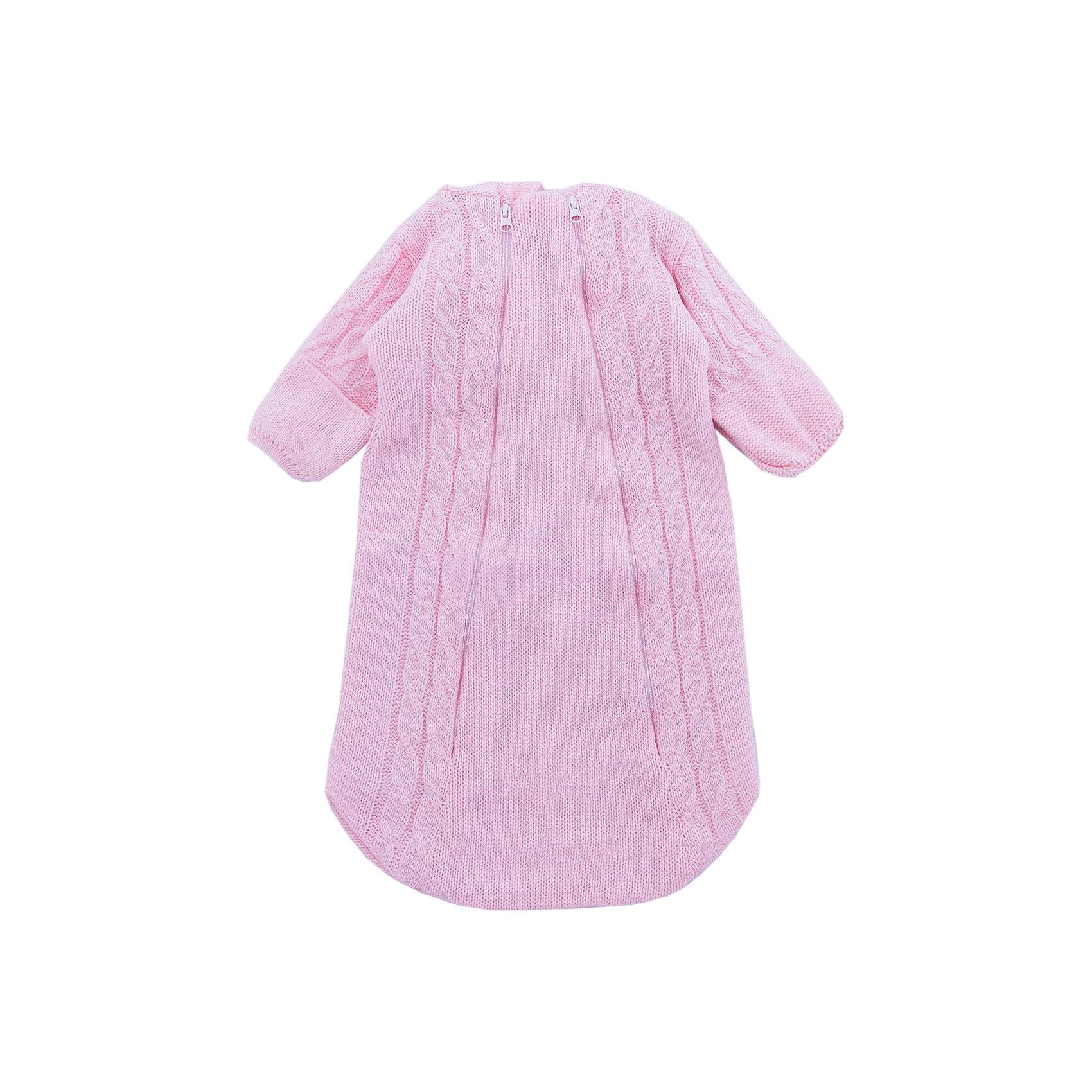 Комбинезон (конверт)  Косы Уси-Пуси для девочкиКомбинезоны<br>Характеристики товара:<br><br>• цвет: розовый;<br>• ткань: вязаная;<br>• пол: девочка;<br>• состав ткани: 50% шерсть, 50% пан, внутр. слой 100%хлопок;<br>• утеплитель: без утеплителя;<br>• вид застежки: на молнии;<br>• особенности модели: вязаная, с рисунком;<br>• сезон: демисезон;<br>• страна бренда: Россия;<br>• страна изготовитель: Россия.<br><br>Вязаный конветр для новородженных с подкладкой из 100% хлопка отлично подойдет для выписки из роддома.<br><br>Верхняя ткань выполнена из нитей шерсти и ПАНа. Его можно использовать круглый год: зимой под зимний конветр, а летом при прохладной погоде. Наличие двух молний на конверте позволяют быстро одеть ребенка на прогулку или переодеть малыша при необходимости. <br><br>Вязаный конветр «Косы» Уси-Пуси для девочки можно купить в нашем интернет-магазине.<br><br>Ширина мм: 157<br>Глубина мм: 13<br>Высота мм: 119<br>Вес г: 200<br>Цвет: розовый<br>Возраст от месяцев: 3<br>Возраст до месяцев: 6<br>Пол: Женский<br>Возраст: Детский<br>Размер: 62/68,50/56,56/62<br>SKU: 7029644