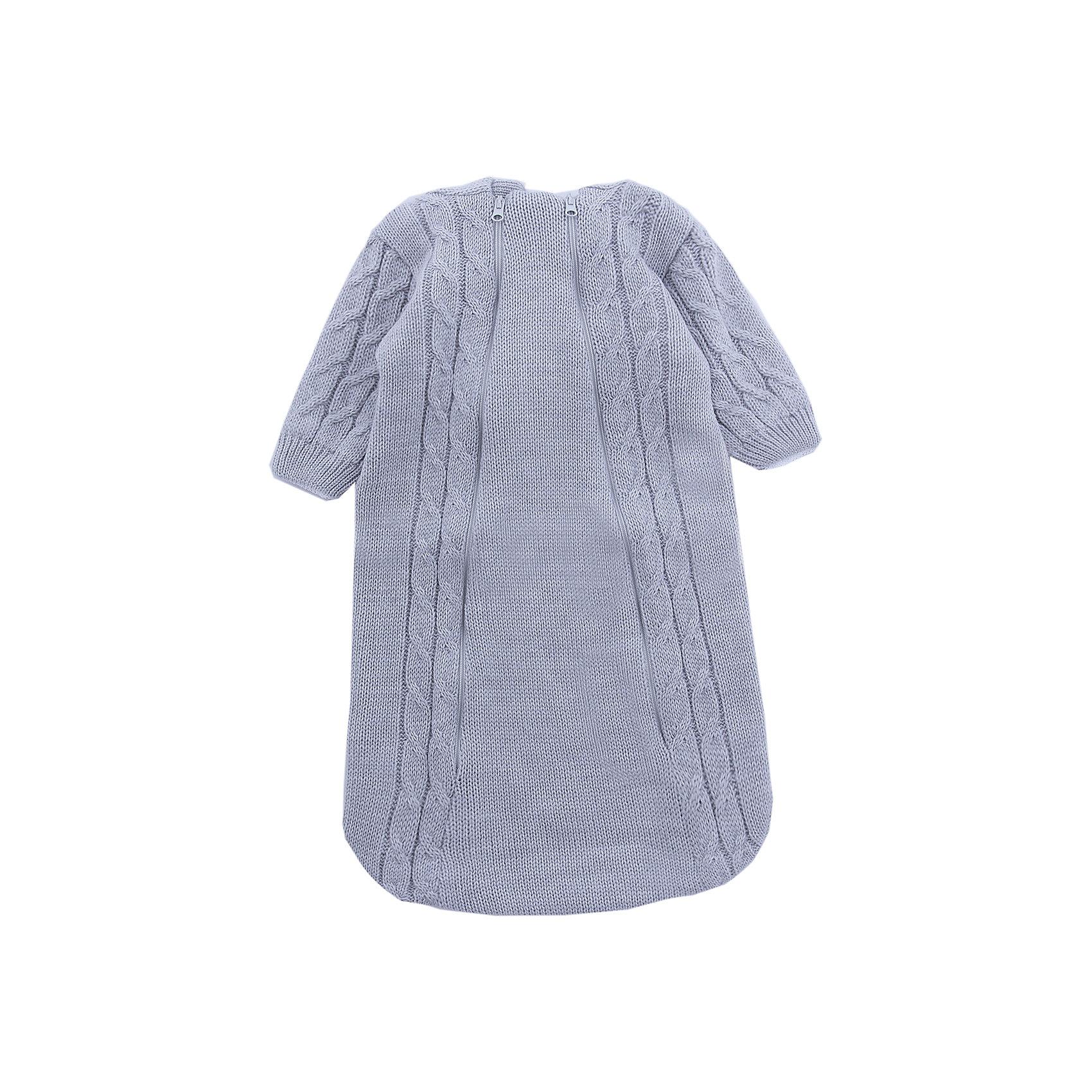 Комбинезон (конверт)  Косы Уси-ПусиКомбинезоны<br>Характеристики товара:<br><br>• цвет: серый;<br>• ткань: вязаная;<br>• состав ткани: 50% шерсть, 50% пан, внутр. слой 100%хлопок;<br>• утеплитель: без утеплителя;<br>• вид застежки: на молнии;<br>• особенности модели: вязаная, с рисунком;<br>• сезон: демисезон;<br>• страна бренда: Россия;<br>• страна изготовитель: Россия.<br><br>Вязаный конветр для новородженных с подкладкой из 100% хлопка отлично подойдет для выписки из роддома.<br><br>Верхняя ткань выполнена из нитей шерсти и ПАНа. Его можно использовать круглый год: зимой под зимний конветр, а летом при прохладной погоде. Наличие двух молний на конверте позволяют быстро одеть ребенка на прогулку или переодеть малыша при необходимости. <br><br>Вязаный конветр «Косы» Уси-Пуси можно купить в нашем интернет-магазине.<br><br>Ширина мм: 157<br>Глубина мм: 13<br>Высота мм: 119<br>Вес г: 200<br>Цвет: серый<br>Возраст от месяцев: 3<br>Возраст до месяцев: 6<br>Пол: Унисекс<br>Возраст: Детский<br>Размер: 62/68,50/56<br>SKU: 7029648