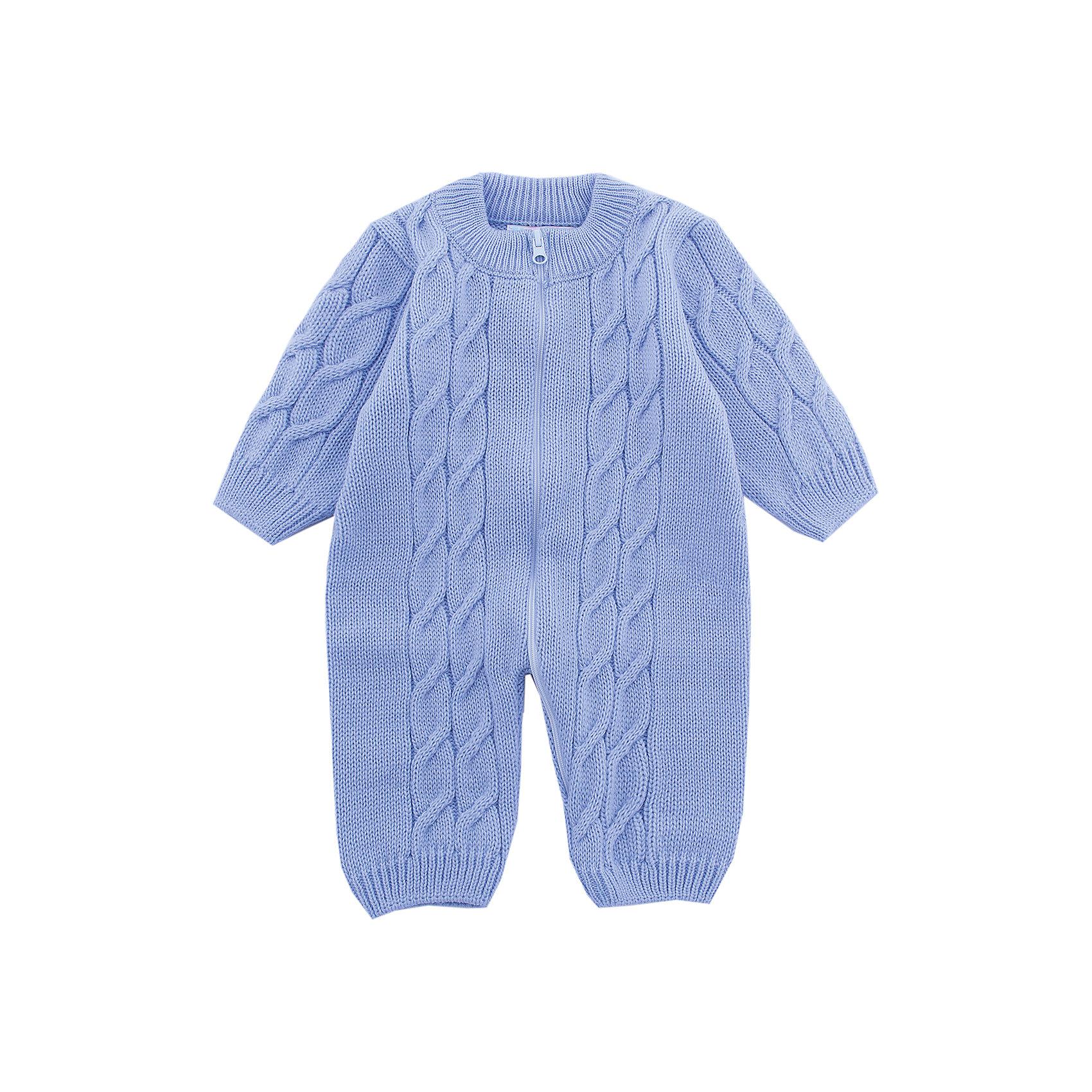 Комбинезон  Москва Уси-Пуси для мальчикаКомбинезоны<br>Характеристики товара:<br><br>• цвет: голубой;<br>• ткань: вязаная;<br>• пол: мальчик;<br>• состав ткани: 50% шерсть, 50% пан;<br>• вид застежки: на молнии;<br>• особенности модели: вязаная, с узором;<br>• сезон: демисезон;<br>• страна бренда: Россия;<br>• страна изготовитель: Россия.<br><br>Вязаный комбинезон «Москва»  изготовлен из полушерстяной пряжи и украшен объемным рисунком «косички», для удобства одевания молния расстегивает комбинезон полностью включая часть ножки.<br><br>Комбинезон с открытыми ручками и ножками подойдет для любого времени года: его можно носить как летом, так и зимой. Наличие шерсти в составе ткани делает комбинезон очень теплым, поэтому даже в холодное время года ребенку в нем будет комфортно.<br><br>Комбинезон «Москва» Уси-Пуси для мальчика можно купить в нашем интернет-магазине.<br><br>Ширина мм: 157<br>Глубина мм: 13<br>Высота мм: 119<br>Вес г: 200<br>Цвет: голубой<br>Возраст от месяцев: 12<br>Возраст до месяцев: 15<br>Пол: Мужской<br>Возраст: Детский<br>Размер: 74/80,50/56,56/62,62/68,68/74<br>SKU: 7029680