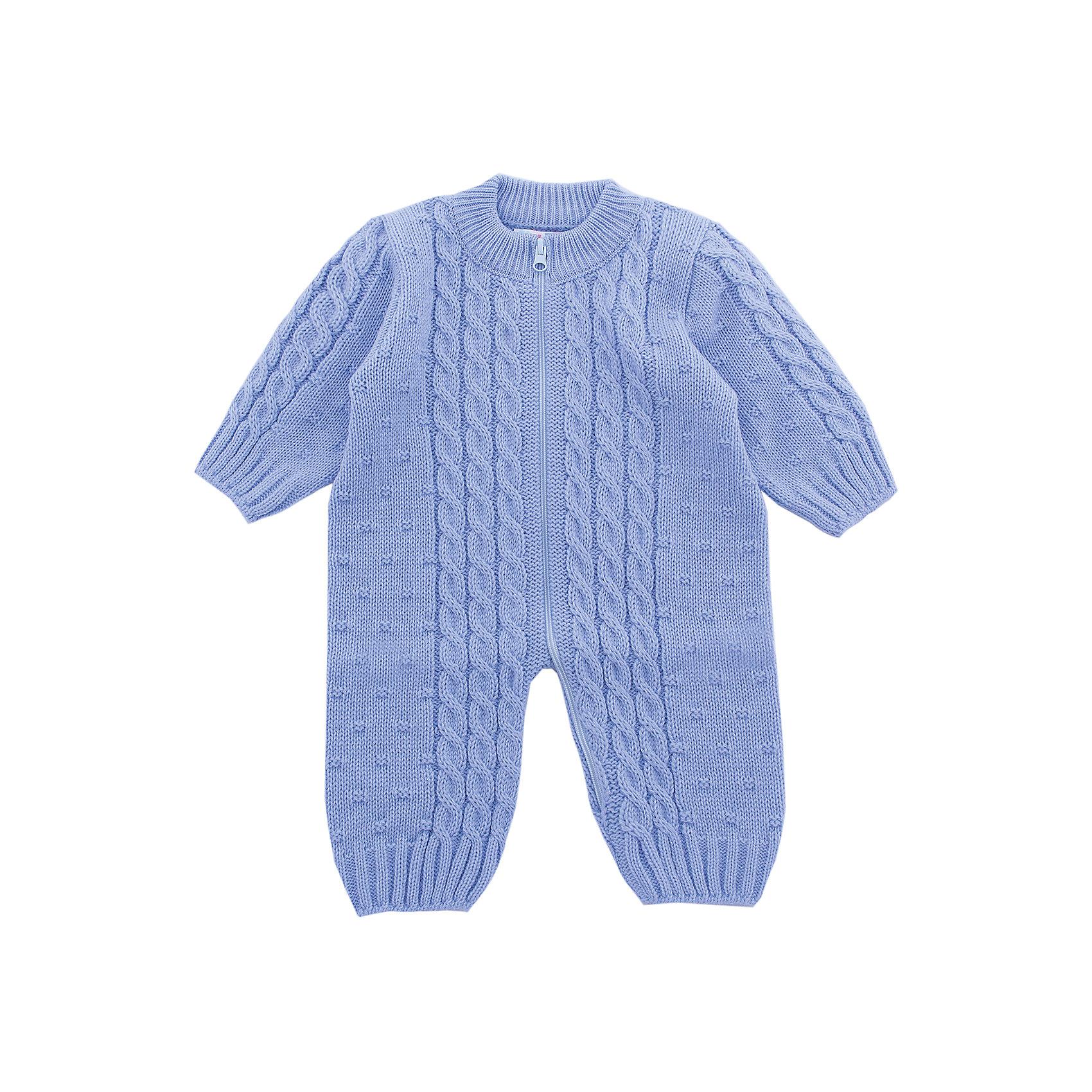Комбинезон  Бусинка Уси-Пуси для мальчикаКомбинезоны<br>Характеристики товара:<br><br>• цвет: голубой;<br>• ткань: вязаная;<br>• пол: мальчик;<br>• состав ткани: 50% шерсть, 50% пан;<br>• вид застежки: на молнии;<br>• особенности модели: вязаная, однотонная;<br>• сезон: демисезон;<br>• страна бренда: Россия;<br>• страна изготовитель: Россия.<br><br>Вязаный комбинезон «Бусинка» можно одевать деткам с самого рождения. Изделие выполнено из мягкой пряжи. Комбинезон с открытыми ручками и ножками. Молния накомбинезоне позволит легко одеть ребенка на прогулку.<br><br>Комбинезон подойдет для любого времени года: его можно носить как летом, так и зимой. Наличие шерсти в составе ткани делает комбинезон очень теплым, поэтому даже в холодное время года ребенку в нем будет комфортно.<br><br>Комбинезон  «Бусинка» Уси-Пуси для мальчика можно купить в нашем интернет-магазине.<br><br>Ширина мм: 157<br>Глубина мм: 13<br>Высота мм: 119<br>Вес г: 200<br>Цвет: голубой<br>Возраст от месяцев: 12<br>Возраст до месяцев: 15<br>Пол: Мужской<br>Возраст: Детский<br>Размер: 74/80,50/56,56/62,62/68,68/74<br>SKU: 7029775