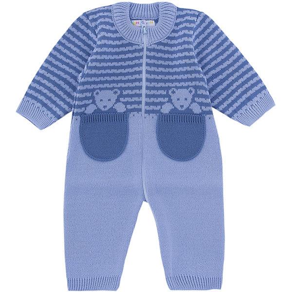 Комбинезон  Мишка в кармане Уси-Пуси для мальчикаКомбинезоны<br>Характеристики товара:<br><br>• цвет: голубой;<br>• ткань: вязаная;<br>• пол: мальчик;<br>• состав ткани: 50% шерсть, 50% пан;<br>• вид застежки: на молнии;<br>• особенности модели: вязаная, с рисунком;<br>• сезон: демисезон;<br>• страна бренда: Россия;<br>• страна изготовитель: Россия.<br><br>Вязаный комбинезон «Мишка в кармане» выполнен из мягкой пряжи. Комбинезон с открытыми ручками и ножками. Молния по всей длине комбинезонапозволит легко одеть ребенка на прогулку.<br><br>Два карманчика, из которых выглядывают медвежатки, делают модель необычной. Комбинезон подойдет для любого времени года: его можно носить как летом, так и зимой.<br><br>Комбинезон  «Мишка в кармане» Уси-Пуси для мальчика можно купить в нашем интернет-магазине.<br>Ширина мм: 157; Глубина мм: 13; Высота мм: 119; Вес г: 200; Цвет: голубой; Возраст от месяцев: 2; Возраст до месяцев: 5; Пол: Мужской; Возраст: Детский; Размер: 62/68,74/80,68/74,50/56,56/62; SKU: 7029799;