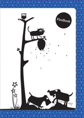 Limpopo Тетрадь А5 60листов Flex Book Animals син