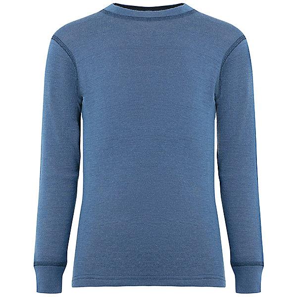 Футболка Lamba villoФлис и термобелье<br>Характеристики товара:<br><br>• цвет: голубой меланж;<br>• состав ткани: 100% шерсть мериноса;<br>• температурный режим: от +10° С до -25° С;<br>• швы плоские, не натирают и не мешают движению;<br>• сезон: зима;<br>• материал впитывает влагу и сразу выводит наружу;<br>• анатомический крой;<br>• не мешает под одеждой;<br>• страна изготовитель: Латвия.<br><br>Футболка с длинным рукавом Lamba villo - это удобная одежда, которая обеспечит комфортную терморегуляцию тела и на улице, и в помещении. <br><br>Футболка с длинным рукавом выполнена из шерсти мериноса (австралийской тонкорунной овцы), которая обладает гипоаллергенными свойствами, поэтому не вызывает раздражения, даже если надета на голое тело.<br><br>Футболку с длинным рукавом Lamba villo можно купить в нашем магазине.<br>Ширина мм: 199; Глубина мм: 10; Высота мм: 161; Вес г: 151; Цвет: синий деним; Возраст от месяцев: 12; Возраст до месяцев: 18; Пол: Унисекс; Возраст: Детский; Размер: 80/86,128/134,116/122,104/110,92/98; SKU: 7031567;