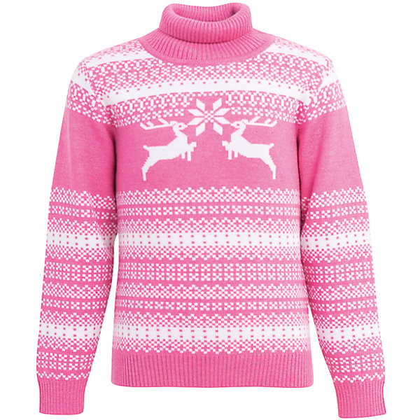 Свитер Lamba villo для девочкиСвитера и кардиганы<br>Характеристики товара:<br><br>• цвет: розовый;<br>• состав ткани: 100% шерсть мериноса;<br>• температурный режим: от +5° С до -25° С;<br>• сезон: зима;<br>• анатомические трикотажные резинки внизу изделия и на рукавах;<br>• анатомический крой;<br>• с высоким горлом;<br>• страна изготовитель: Латвия.<br><br>Теплый свитер Lamba villo  - это удобная и красивая одежда, в которой будет комфортно во время холодных прогулок. <br><br>Он выполнен из шерсти мериноса (австралийской тонкорунной овцы), которая обладает гипоаллергенными свойствами, поэтому не вызывает раздражения, даже если надета на голое тело. Яркий рисунок делает модель актуальной в зимний период.<br><br>Свитер Lamba villo с оленями можно купить в нашем интернет-магазине.<br>Ширина мм: 190; Глубина мм: 74; Высота мм: 229; Вес г: 236; Цвет: розовый; Возраст от месяцев: 48; Возраст до месяцев: 60; Пол: Женский; Возраст: Детский; Размер: 104/110,128/134,140/146,116/122,92/98,80/86; SKU: 7031989;