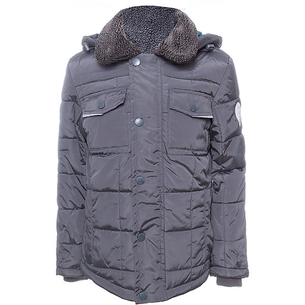 Куртка SELA для мальчикаВерхняя одежда<br>Характеристики товара:<br><br>• цвет: серый<br>• ткань верха: 100% полиэстер<br>• подкладка: 65% хлопок, 35% полиэстер<br>• утеплитель: 100% полиэстер<br>• сезон: демисезон<br>• температурный режим: от +5 до -10С<br>• особенности куртки: на молнии, стеганая<br>• капюшон: без меха, съемный<br>• застежка: молния<br>• страна бренда: Исполиамидния<br>• страна изготовитель: Индия<br><br>Серая детская куртка отличается лаконичным дизайном. В демисезонной куртке для мальчика от ребенок будет чувствовать себя комфортно в прохладную погоду. Легкая куртка для мальчика от Sela поможет обеспечить ребенку тепло и комфорт. <br><br>Куртку для мальчика Sela (Села) можно купить в нашем интернет-магазине.<br><br>Ширина мм: 356<br>Глубина мм: 10<br>Высота мм: 245<br>Вес г: 519<br>Цвет: темно-серый<br>Возраст от месяцев: 132<br>Возраст до месяцев: 144<br>Пол: Мужской<br>Возраст: Детский<br>Размер: 152,140,128,122<br>SKU: 7032307