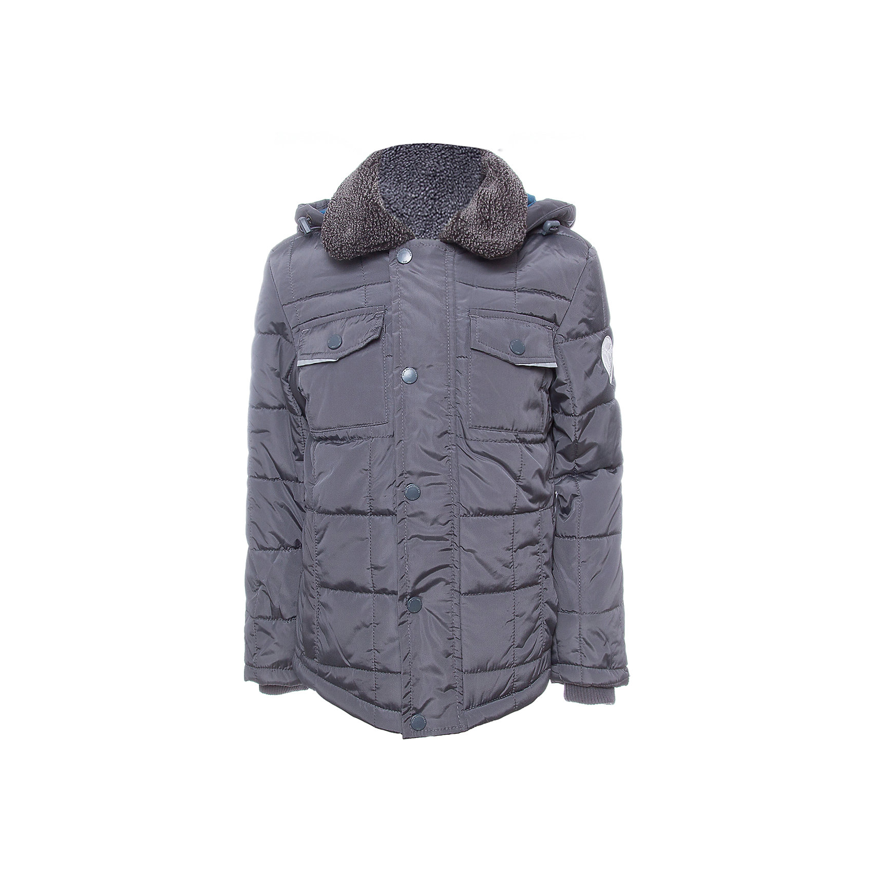 Куртка SELA для мальчикаВерхняя одежда<br>Характеристики товара:<br><br>• цвет: серый<br>• ткань верха: 100% полиэстер<br>• подкладка: 65% хлопок, 35% полиэстер<br>• утеплитель: 100% полиэстер<br>• сезон: демисезон<br>• температурный режим: от +5 до -10С<br>• особенности куртки: на молнии, стеганая<br>• капюшон: без меха, съемный<br>• застежка: молния<br>• страна бренда: Исполиамидния<br>• страна изготовитель: Индия<br><br>Серая детская куртка отличается лаконичным дизайном. В демисезонной куртке для мальчика от ребенок будет чувствовать себя комфортно в прохладную погоду. Легкая куртка для мальчика от Sela поможет обеспечить ребенку тепло и комфорт. <br><br>Куртку для мальчика Sela (Села) можно купить в нашем интернет-магазине.<br><br>Ширина мм: 356<br>Глубина мм: 10<br>Высота мм: 245<br>Вес г: 519<br>Цвет: темно-серый<br>Возраст от месяцев: 132<br>Возраст до месяцев: 144<br>Пол: Мужской<br>Возраст: Детский<br>Размер: 152,122,128,140<br>SKU: 7032307