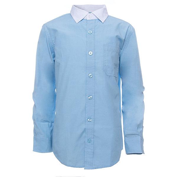 Рубашка SELA для мальчикаБлузки и рубашки<br>Характеристики товара:<br><br>• цвет: голубой<br>• состав ткани: 60% хлопок, 40% полиэстер<br>• сезон: демисезон<br>• особенности модели: школьная<br>• застежка: пуговицы<br>• длинные рукава<br>• страна бренда: Россия<br>• страна производства: Индия<br><br>Голубая рубашка для мальчика - базовая вещь для гардероба. Эта рубашка для ребенка сшита из дышащего хлопкового материала. Модели от Sela стильные и удобные, как и эта детская рубашка с длинным рукавом. Рубашка для мальчика отличается доступной ценой.<br><br>Рубашку для мальчика Sela (Села) можно купить в нашем интернет-магазине.<br><br>Ширина мм: 174<br>Глубина мм: 10<br>Высота мм: 169<br>Вес г: 157<br>Цвет: голубой<br>Возраст от месяцев: 132<br>Возраст до месяцев: 144<br>Пол: Мужской<br>Возраст: Детский<br>Размер: 152,146,140,134,128,122,170,164,158<br>SKU: 7032323