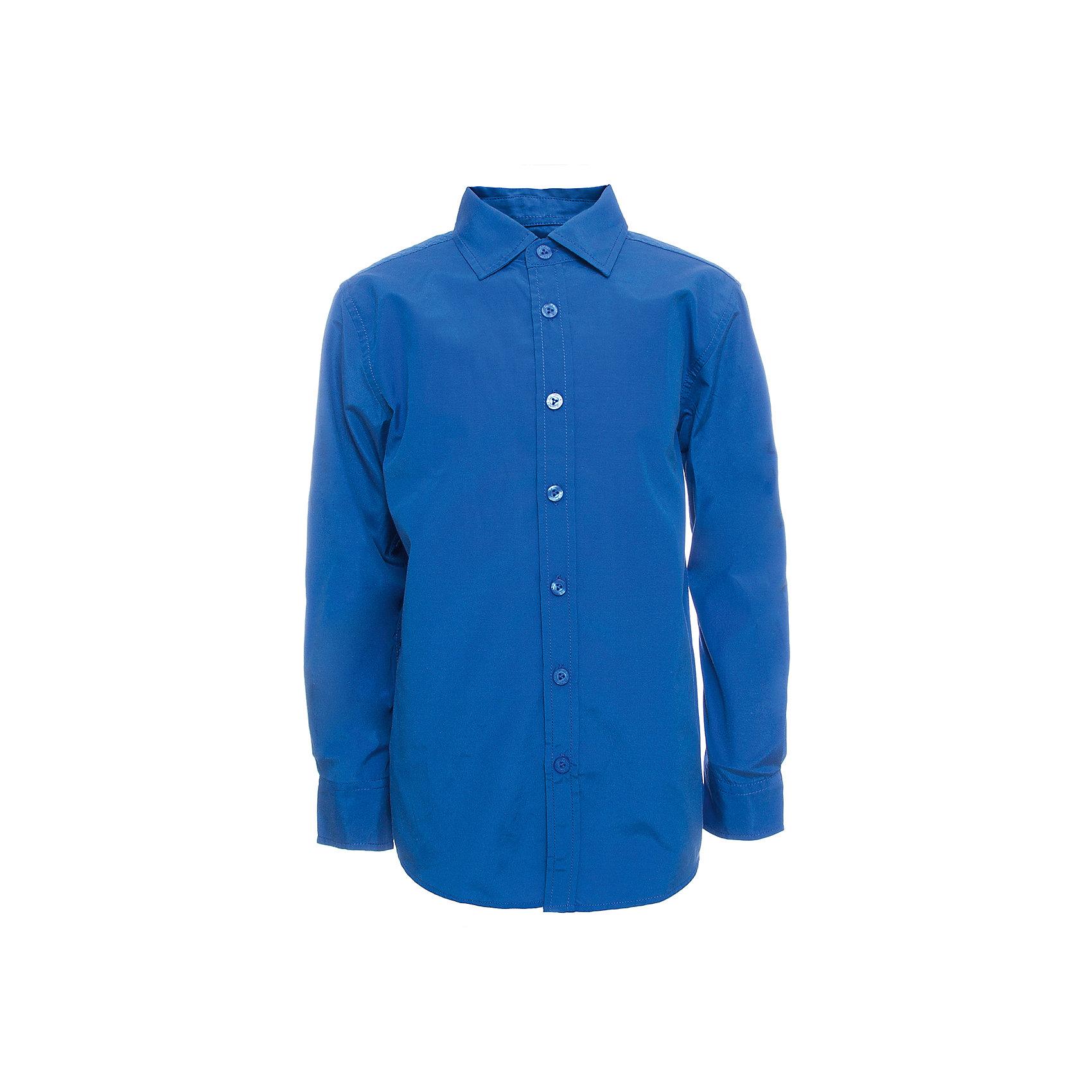 Рубашка SELA для мальчикаБлузки и рубашки<br>Характеристики товара:<br><br>• цвет: синий<br>• состав ткани: 60% хлопок, 40% полиэстер<br>• сезон: демисезон<br>• особенности модели: школьная<br>• застежка: пуговицы<br>• длинные рукава<br>• страна бренда: Россия<br>• страна производства: Индия<br><br>Синяя рубашка для мальчика - базовая вещь для гардероба. Эта рубашка для ребенка сшита из дышащего хлопкового материала. Модели от Sela стильные и удобные, как и эта детская рубашка с длинным рукавом. Рубашка для мальчика отличается доступной ценой.<br><br>Рубашку для мальчика Sela (Села) можно купить в нашем интернет-магазине.<br><br>Ширина мм: 174<br>Глубина мм: 10<br>Высота мм: 169<br>Вес г: 157<br>Цвет: синий<br>Возраст от месяцев: 132<br>Возраст до месяцев: 144<br>Пол: Мужской<br>Возраст: Детский<br>Размер: 152,122,128,134,140,146<br>SKU: 7032333