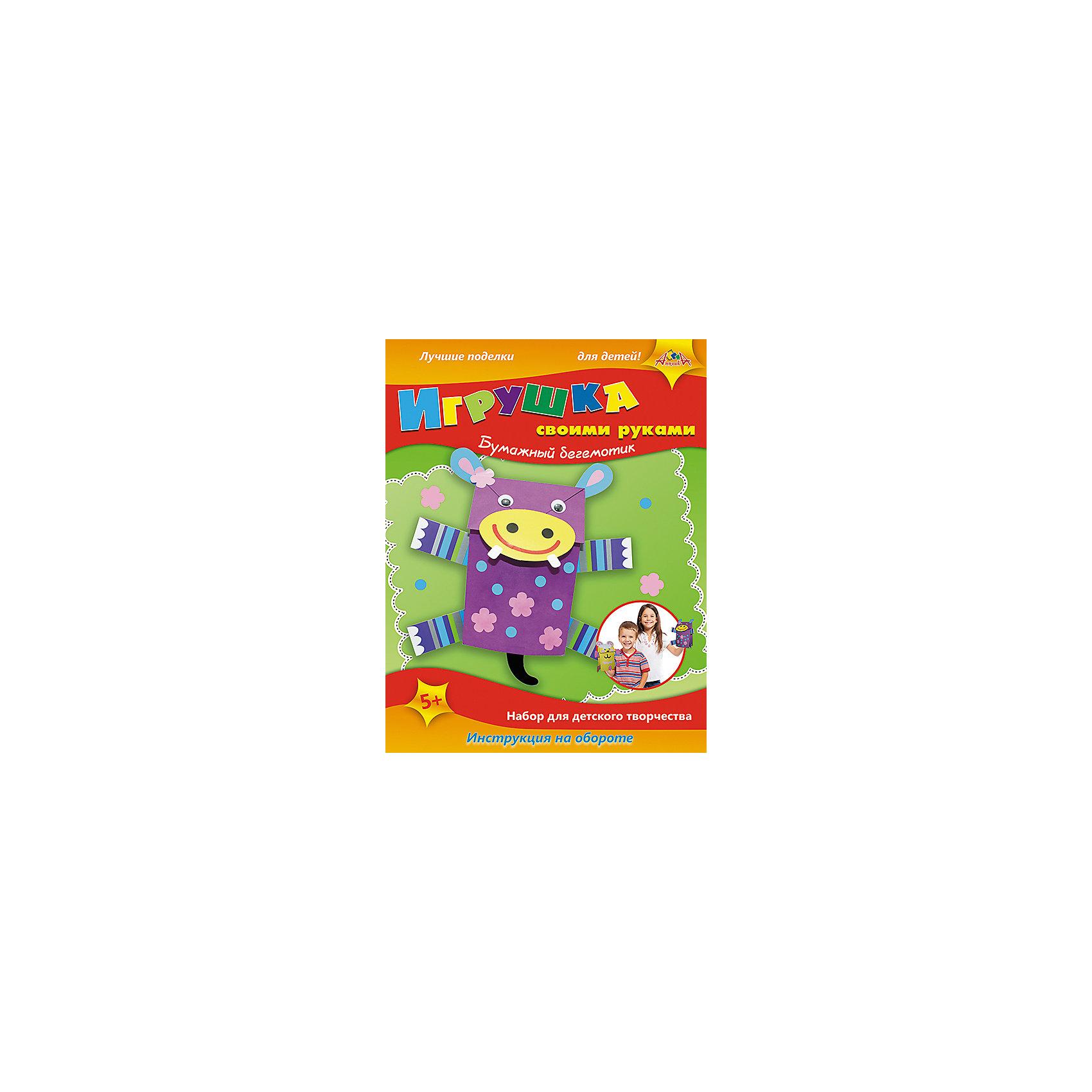 Набор для детского творчества Игрушки своими руками Бумажные Зебра, Кот и БегемотШитьё<br>Характеристики:<br><br>• возраст: от 5 лет<br>• комплектация: бумажные пакеты, самоклеящиеся элементы для декорирования, цветные детали из картона, бумажная веревка, глазки, двусторонний скотч.<br>• размер упаковки: 34х22х2,8 см.<br>• вес: 195 гр.<br><br>Игрушки своими руками могут быть одновременно и оригинальными подарочными пакетами, и игрушками, которые можно надеть на руку и играть. Для изготовления игрушек (зебры, овечки и бегемота) в наборе имеются бумажные пакеты, самоклеящиеся элементы для декорирования, цветные детали из картона, бумажная веревка, глазки, двусторонний скотч.<br><br>Набор для детского творчества способствует формированию у ребенка усидчивости, внимательности и аккуратности, развивает мелкую моторику рук.<br><br>Набор для детского творчества «Игрушки своими руками Бумажные Зебра, Овечка и Бегемот» можно купить в нашем интернет-магазине.<br><br>Ширина мм: 340<br>Глубина мм: 220<br>Высота мм: 28<br>Вес г: 195<br>Возраст от месяцев: 36<br>Возраст до месяцев: 2147483647<br>Пол: Унисекс<br>Возраст: Детский<br>SKU: 7033668
