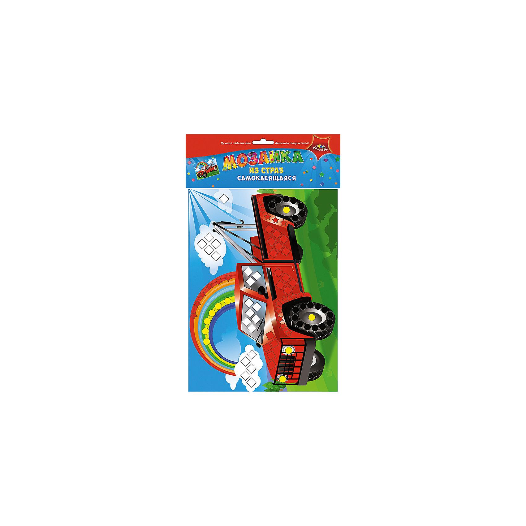 Набор для детского творчества Мозаики для самых маленьких Ракета-Грузовик-Рыбки, ГрушиТворчество для малышей<br>Порадуйте вашего ребенка набором для творчества Мозаика для самых маленьких. Набор состоит из мягкой мозаики из ЭВЫ, 2-х наборов мозаики из страз и Игры-Шнуровки Фрукты. Игра-шнуровка развивает мелкую моторику. Мозаики очень просты в использовании. На цветную картонную основу приклейте элементы из самоклеящегося мягкого пластика или цветного пластика. Каждому элементу соответствует свой цвет на рисунке. Будьте внимательны, и у Вас получится замечательная объемная аппликация<br><br>Ширина мм: 340<br>Глубина мм: 220<br>Высота мм: 28<br>Вес г: 195<br>Возраст от месяцев: 36<br>Возраст до месяцев: 2147483647<br>Пол: Унисекс<br>Возраст: Детский<br>SKU: 7033669
