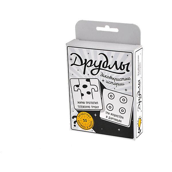 Настольная игра Друдлы, Магеллан (черно-белая версия)Настольные игры для всей семьи<br>Характеристики:<br><br>• возраст: от 7 лет<br>• комплектация: 50 черно-белых карточек с друдлами; 10 пустых карточек для того, чтобы вы сами нарисовали на них друдлы; правила игры.<br>• материал: картон<br>• количество игроков: от 2 до 10 человек<br>• время игры: 20 минут<br>• упаковка: картонная коробка<br>• размер упаковки: 14,5х10х3 см.<br>• вес: 105 гр.<br><br>В этом игровом наборе 50 загадочных картинок, скрывающих потаённый смысл, да еще и не один. Ваша задача угадать, увидеть или придумать, что же изображено на картинке. Описания к картинкам вы придумываете по очереди, а те, у кого постепенно заканчиваются варианты, просто вылетают из борьбы. Кто остался — забирает карточку. Победит в итоге тот, кто наберёт больше всех карт.<br><br>Настольная игра «Друдлы» - это игра для тех, кто любит посмеяться вместе с друзьями. Она развивает воображение и может быть использована в тренингах.<br><br>Настольную игру Друдлы, Магеллан (черно-белую версию) можно купить в нашем интернет-магазине.<br><br>Ширина мм: 145<br>Глубина мм: 100<br>Высота мм: 30<br>Вес г: 105<br>Возраст от месяцев: 84<br>Возраст до месяцев: 2147483647<br>Пол: Унисекс<br>Возраст: Детский<br>SKU: 7036633