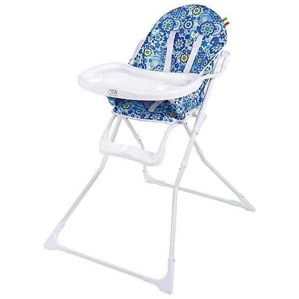 Стульчик для кормления Simple, Sweet Baby, голубойСтульчики для кормления<br>Характеристики:<br><br>• сиденье оснащено 5-ти точечными ремнями безопасности;<br>• регулируется положение столика: перед ребенком во время еды, за спинкой стульчика во время перерывов между приемами пищи;<br>• углубления для поильников, бортики на столешнице;<br>• пластиковая подножка;<br>• прорезиненные накладки на ножки стульчика;<br>• компактное складывание;<br>• материал чехла: ткань Оксфорд 300D;<br>• материал стульчика: алюминий, пластик;<br>• размер стульчика: 70х60х102 см;<br>• вес: 5,8 кг;<br>• размер в сложенном виде: 76х48х48 см;<br>• вес в упаковке: 6,5 кг.<br><br>Стульчик для кормления Simple, Sweet Baby, голубой можно купить в нашем интернет-магазине.<br>Ширина мм: 640; Глубина мм: 800; Высота мм: 970; Вес г: 5360; Цвет: голубой; Возраст от месяцев: 6; Возраст до месяцев: 36; Пол: Унисекс; Возраст: Детский; SKU: 7036839;