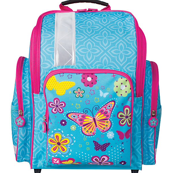 Ранец жесткокаркасный BRAUBERG для начальной школы, девочка, Махаон, 18 литров, 36*26*14 смРанцы<br>Ранец предназначен для девочек 7-10 лет. Модель выполнена в приятном бирюзовом цвете, дополнена оригинальным весенне-летним принтом. Благодаря яркой расцветке и надежной конструкции, с ранцами этой серии ребенок всегда будет выглядеть нарядно и опрятно.<br>Ширина мм: 360; Глубина мм: 260; Высота мм: 140; Вес г: 720; Возраст от месяцев: 72; Возраст до месяцев: 216; Пол: Женский; Возраст: Детский; SKU: 7036865;