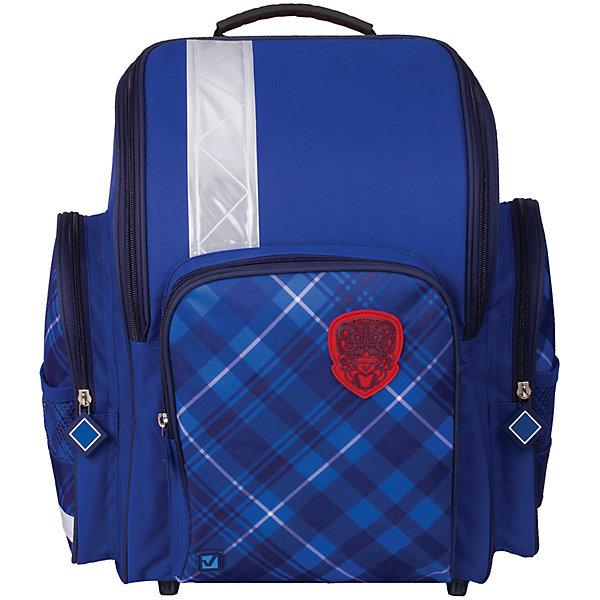 Ранец жесткокаркасный BRAUBERG, для начальной школы, мальчик, Оксфорд, 18 литров, 36*26*14 смРанцы<br>Серия предназначена для мальчиков 7-10 лет. Ранец выполнен в лаконичном стиле, на переднем кармане расположена резиновая нашивка с логотипом. Такая модель будет универсально смотреться как со школьной формой, так и с любой другой одеждой.<br><br>Ширина мм: 360<br>Глубина мм: 260<br>Высота мм: 140<br>Вес г: 680<br>Возраст от месяцев: 72<br>Возраст до месяцев: 216<br>Пол: Мужской<br>Возраст: Детский<br>SKU: 7036868