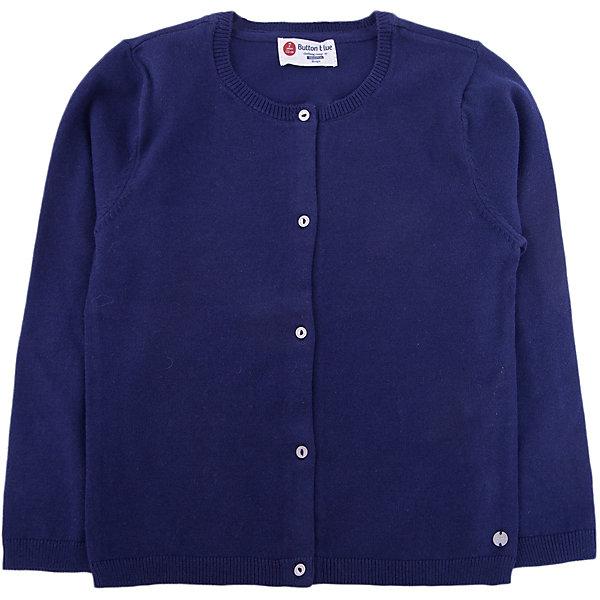 Купить Кардиган Button Blue для девочки, Китай, темно-синий, 122, 158, 152, 146, 140, 134, 128, Женский