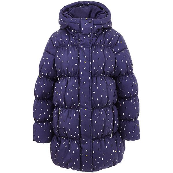 Куртка Button Blue для девочкиВерхняя одежда<br>Характеристики товара:<br><br>• цвет: синий;<br>• состав: 100% полиэстер;<br>• подкладка: 100% хлопок, 100% полиэстер;<br>• утеплитель: 100% полиэстер;<br>• сезон: демисезон;<br>• температурный режим: от +7 до -10С;<br>• застежка: молния по всей длине;<br>• защита подбородка от защемления;<br>• капюшон не отстегивается;<br>• эластичные манжеты рукавов;<br>• два кармана на молнии;<br>• дополнительная планка на кнопках;<br>• страна бренда: Россия;<br>• страна изготовитель: Китай.<br><br>Демисезонная куртка с капюшоном для девочки. Куртка застегивается на молнию с защитой подбородка от защемления. Сверху молнии дополнительная защитная планка на кнопках. Эластичные манжеты, два кармана на молнии. Куртка в мелкий рисунок.<br><br>Куртку Button Blue (Баттон Блю) можно купить в нашем интернет-магазине.<br><br>Ширина мм: 356<br>Глубина мм: 10<br>Высота мм: 245<br>Вес г: 519<br>Цвет: темно-синий<br>Возраст от месяцев: 24<br>Возраст до месяцев: 36<br>Пол: Женский<br>Возраст: Детский<br>Размер: 98,158,104,110,116,122,128,134,140,146,152<br>SKU: 7037897