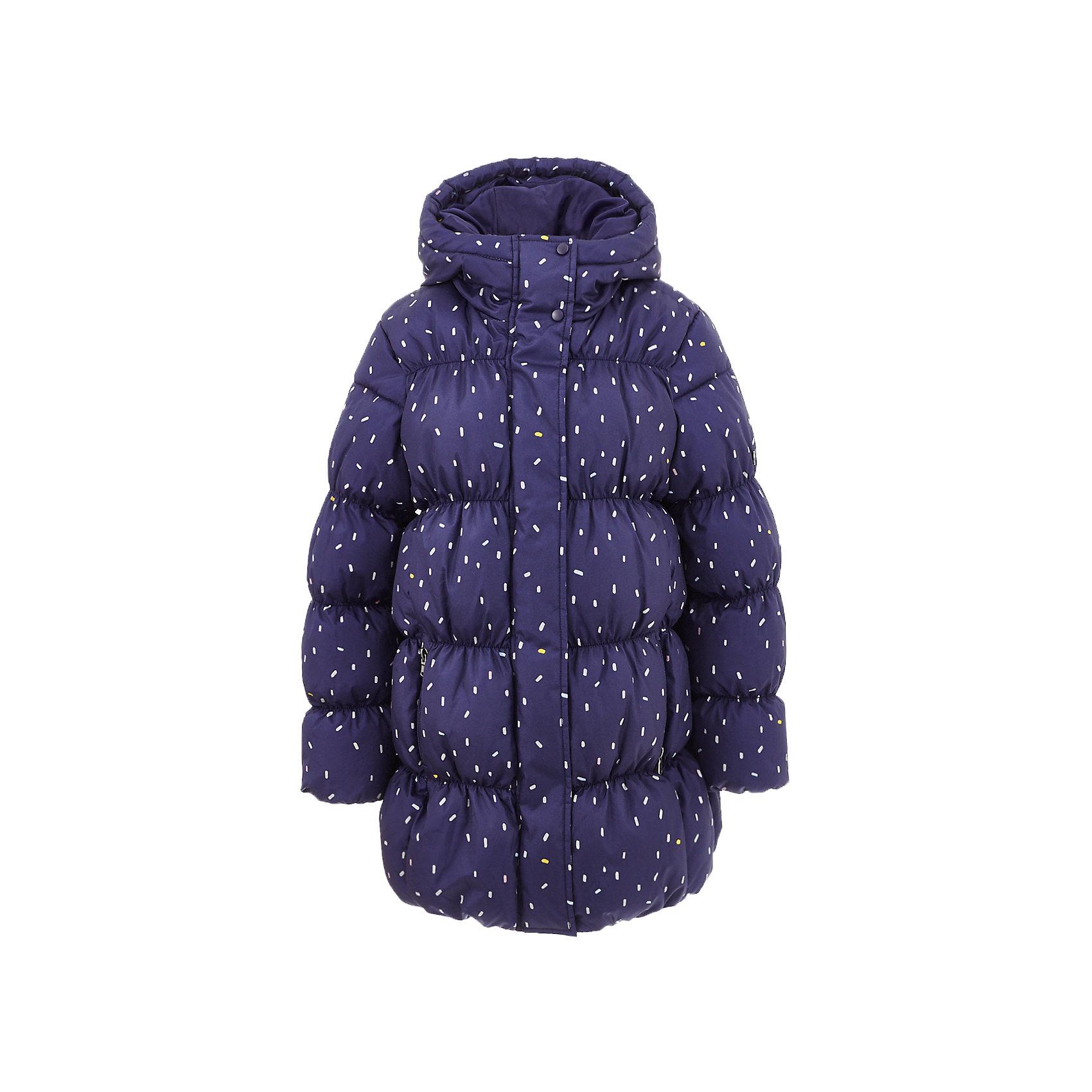 Куртка BUTTON BLUE для девочкиВерхняя одежда<br>Куртка BUTTON BLUE для девочки<br>В преддверии осенней сырости и холодов главная задача родителей - купить полупальто или хорошую куртку! Добротное полупальто для девочки - гарантия тепла и комфорта. Оригинальная принтованная плащевка создает настроение, модная форма делает полупальто привлекательным. У полупальто от Button Blue есть все шансы стать базовой вещью в практичном осеннем гардеробе ребенка! Прекрасный внешний вид и функциональность делают полупальто от Buttons Blue востребованной моделью. Оптимальная цена позволяет создать полноценный и разнообразный детский гардероб из модных, нужных и интересных вещей.<br>Состав:<br>тк. верха:100% полиэстер               Подкладка: 100% хлопок/100% полиэстер  Утеплитель 100% полиэстер<br><br>Ширина мм: 356<br>Глубина мм: 10<br>Высота мм: 245<br>Вес г: 519<br>Цвет: темно-синий<br>Возраст от месяцев: 144<br>Возраст до месяцев: 156<br>Пол: Женский<br>Возраст: Детский<br>Размер: 158,98,104,110,116,122,128,134,140,146,152<br>SKU: 7037897