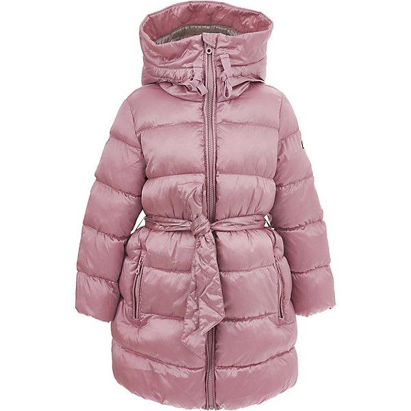 Полупальто Button Blue для девочкиВерхняя одежда<br>Характеристики товара:<br><br>• цвет: розовый;<br>• состав: 55% полиэстер, 45% нейлон;<br>• подкладка: 100% хлопок, 100% полиэстер;<br>• утеплитель: 100% полиэстер, 330 г/м2;<br>• сезон: зима;<br>• температурный режим: от 0 до -25С;<br>• застежка: молния по всей длине;<br>• защита подбородка от защемления;<br>• внутренняя регулировка обхвата талии;<br>• капюшон не отстегивается;<br>• эластичные манжеты рукавов;<br>• съемный дополнительный пояс;<br>• капюшон со шнурком-утяжкой;<br>• два кармана на молнии;<br>• дополнительная планка на кнопках;<br>• страна бренда: Россия;<br>• страна изготовитель: Китай.<br><br>Зимнее полупальто с капюшоном для девочки. Полупальто застегивается на молнию с защитой подбородка от защемления. Полупальто с высоким воротом-капюшоном, с дополнительными шнурками-утяжками для регулировки. Полупальто с дополнительным поясом, который можно снять. Внутри регулировка обхвата талии, шнурок со стопером.<br><br>Полупальто Button Blue (Баттон Блю) можно купить в нашем интернет-магазине.<br><br>Ширина мм: 356<br>Глубина мм: 10<br>Высота мм: 245<br>Вес г: 519<br>Цвет: розовый<br>Возраст от месяцев: 24<br>Возраст до месяцев: 36<br>Пол: Женский<br>Возраст: Детский<br>Размер: 98,158,152,146,140,134,128,122,116,110,104<br>SKU: 7037933
