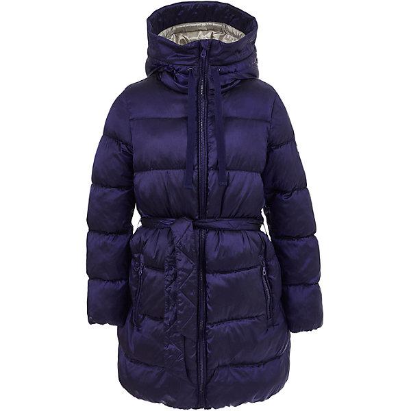 Полупальто Button Blue для девочкиВерхняя одежда<br>Характеристики товара:<br><br>• цвет: синий;<br>• состав: 55% полиэстер, 45% нейлон;<br>• подкладка: 100% хлопок, 100% полиэстер;<br>• утеплитель: 100% полиэстер, 330 г/м2;<br>• сезон: зима;<br>• температурный режим: от 0 до -25С;<br>• застежка: молния по всей длине;<br>• защита подбородка от защемления;<br>• внутренняя регулировка обхвата талии;<br>• капюшон не отстегивается;<br>• эластичные манжеты рукавов;<br>• съемный дополнительный пояс;<br>• капюшон со шнурком-утяжкой;<br>• два кармана на молнии;<br>• дополнительная планка на кнопках;<br>• страна бренда: Россия;<br>• страна изготовитель: Китай.<br><br>Зимнее полупальто с капюшоном для девочки. Полупальто застегивается на молнию с защитой подбородка от защемления. Полупальто с высоким воротом-капюшоном, с дополнительными шнурками-утяжками для регулировки. Полупальто с дополнительным поясом, который можно снять. Внутри регулировка обхвата талии, шнурок со стопером.<br><br>Полупальто Button Blue (Баттон Блю) можно купить в нашем интернет-магазине.<br><br>Ширина мм: 356<br>Глубина мм: 10<br>Высота мм: 245<br>Вес г: 519<br>Цвет: темно-синий<br>Возраст от месяцев: 72<br>Возраст до месяцев: 84<br>Пол: Женский<br>Возраст: Детский<br>Размер: 122,158,152,146,140,134,128,116,110,104,98<br>SKU: 7037945