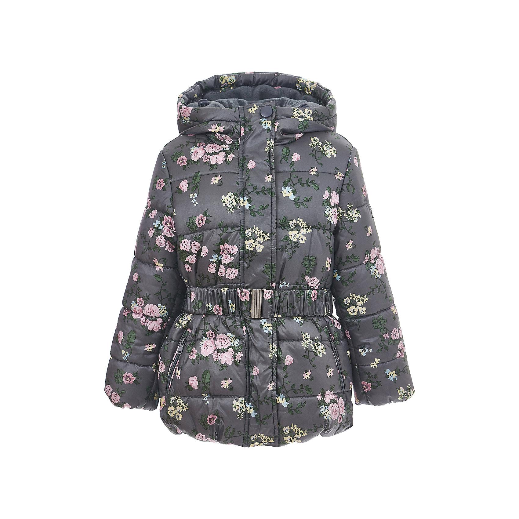 Куртка Button Blue для девочкиВерхняя одежда<br>Куртка BUTTON BLUE для девочки<br>Стильное зимнее пальто для девочек - залог хорошего настроения в морозный день! Классное детское пальто по оптимальной цене принесет удовольствие от покупки! К тому же, недорогое пальто - не значит скучное! Необычная плащевка с цветочным рисунком, модный силуэт, детали обеспечивают пальто прекрасный внешний вид! Если Вы хотите купить зимнее пальто и не сомневаться в его качестве и комфорте, детское пальто от Button Blue - самый лучший вариант!<br>Состав:<br>тк. верха:  55%полиэстер 45% нейлон Подкладка: 100% полиэстер (флис)/100% полиэстер                                                                      Утеплитель: 100% полиэстер(fake down)<br><br>Ширина мм: 356<br>Глубина мм: 10<br>Высота мм: 245<br>Вес г: 519<br>Цвет: темно-серый<br>Возраст от месяцев: 60<br>Возраст до месяцев: 72<br>Пол: Женский<br>Возраст: Детский<br>Размер: 116,122,128,134,140,146,152,158,98,104,110<br>SKU: 7037969