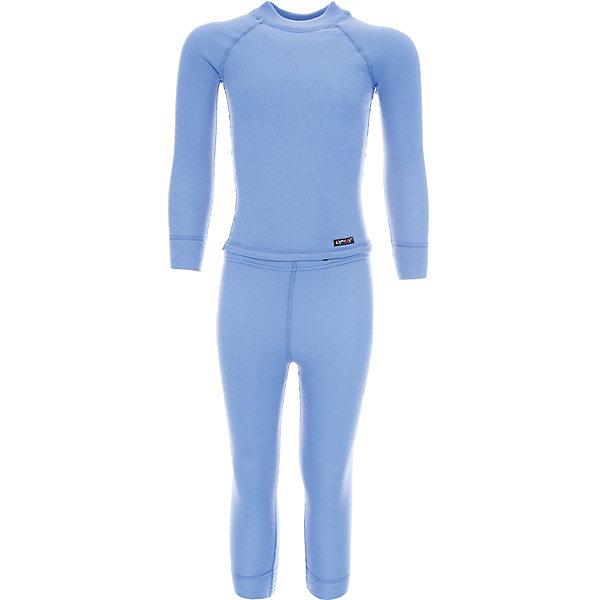 Комплект термобелья LynxyФлис и термобелье<br>Характеристики товара:<br><br>• цвет: голубой<br>• комплектация: лонгслив и рейтузы<br>• состав ткани: 95% полиэстер, 5% вискоза <br>• подкладка: нет<br>• сезон: зима<br>• температурный режим: от -30 до 0<br>• пояс: резинка<br>• длинные рукава<br>• страна бренда: Россия<br>• страна изготовитель: Россия<br><br>Качественный материал комплекта термобелья для детей позволяет коже дышать и впитывает лишнюю влагу. Детский комплект термобелья легко надевается благодаря эластичному материалу. Голубое термобелье для ребенка выполнено в приятном цвете.<br><br>Комплект термобелья Lynxy (Линкси) можно купить в нашем интернет-магазине.<br><br>Ширина мм: 123<br>Глубина мм: 10<br>Высота мм: 149<br>Вес г: 209<br>Цвет: темно-синий<br>Возраст от месяцев: 60<br>Возраст до месяцев: 72<br>Пол: Унисекс<br>Возраст: Детский<br>Размер: 116,86,170,164,152,146,140,134,128,122,110,104,98,92<br>SKU: 7038628