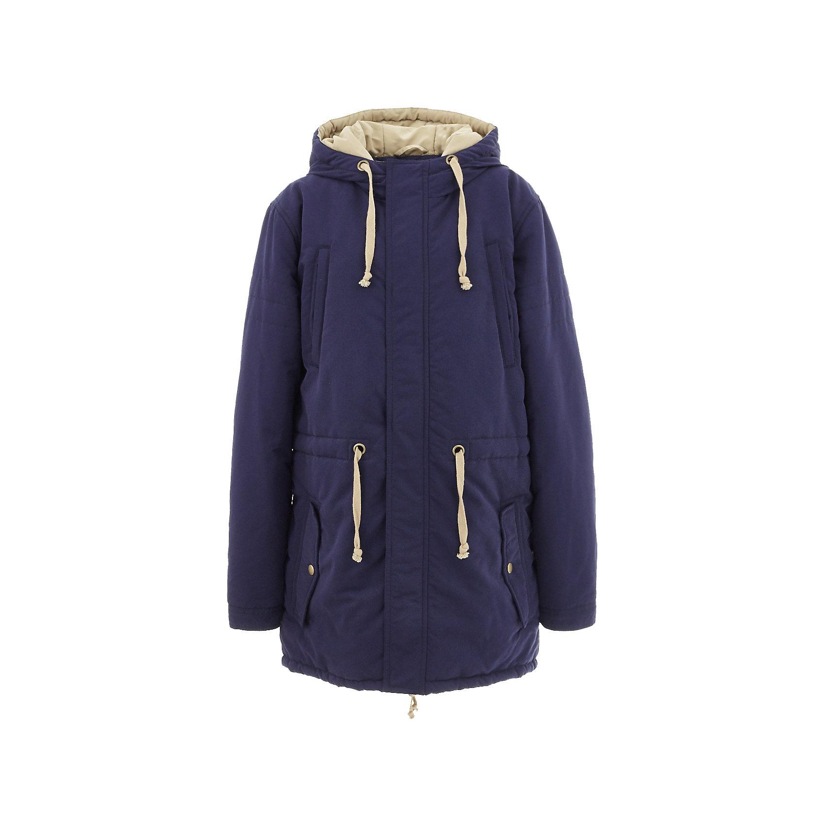 Полупальто BUTTON BLUE для мальчикаВерхняя одежда<br>Полупальто BUTTON BLUE для мальчика<br>В преддверии осенней сырости и холодов главная задача родителей - купить полупальто или хорошую куртку! Добротное полупальто для мальчика - гарантия тепла и комфорта. Модная хлопковая плащевка  создает настроение, интересная цветовая комбинация вносит разнообразие в хмурые осенние будни, актуальная модель парка делает полупальто привлекательным. У полупальто от Button Blue есть все шансы стать базовой вещью в практичном осеннем гардеробе ребенка! Прекрасный внешний вид и функциональность делают полупальто от Button Blue востребованной моделью. Оптимальная цена позволяет создать полноценный и разнообразный детский гардероб из модных, нужных и интересных вещей.<br>Состав:<br>тк. верха: 100% полиэстер,                                             Подкл. 100% хлопок/100% полиэстер,                                                  Утепл., 100% полиэстер,<br><br>Ширина мм: 356<br>Глубина мм: 10<br>Высота мм: 245<br>Вес г: 519<br>Цвет: синий<br>Возраст от месяцев: 108<br>Возраст до месяцев: 120<br>Пол: Мужской<br>Возраст: Детский<br>Размер: 140,146,152,158,104,110,116,122,128,134<br>SKU: 7038845