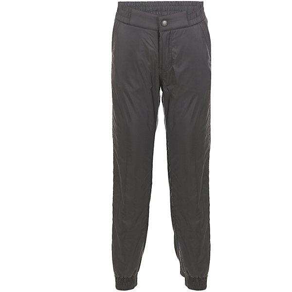 Брюки Button Blue для мальчикаВерхняя одежда<br>Характеристики товара:<br><br>• цвет: черный;<br>• состав: 100% полиэстер;<br>• подкладка: 100% полиэстер, флис;<br>• без дополнительного утепления;<br>• сезон: демисезон;<br>• температурный режим: от +10 до -5С;<br>• застежка: ширинка на молнии и пуговица;<br>• плащевая непромокаемая ткань;<br>• сплошная теплая подкладка из флиса;<br>• эластичная резинка по низу штанин;<br>• страна бренда: Россия;<br>• страна изготовитель: Китай.<br><br>Демисезонные брюки для мальчика. Брюки на флисовой подкладке, верх из непромокаемой плащевой ткани. <br><br>Брюки Button Blue (Баттон Блю) можно купить в нашем интернет-магазине.<br><br>Ширина мм: 215<br>Глубина мм: 88<br>Высота мм: 191<br>Вес г: 336<br>Цвет: темно-серый<br>Возраст от месяцев: 144<br>Возраст до месяцев: 156<br>Пол: Мужской<br>Возраст: Детский<br>Размер: 158,98,104,110,116,122,128,134,140,146,152<br>SKU: 7038976