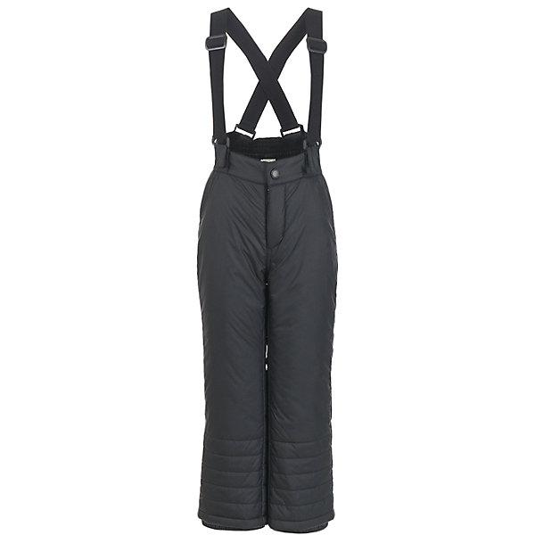 Брюки Button Blue для мальчикаВерхняя одежда<br>Характеристики товара:<br><br>• цвет: темно-серый;<br>• состав: 100% полиэстер;<br>• подкладка: 100% полиэстер;<br>• утеплитель: 100% полиэстер, синтепон;<br>• сезон: зима;<br>• температурный режим: от 0 до -20С;<br>• застежка: ширинка на молнии и пуговица;<br>• плащевая непромокаемая ткань;<br>• снегозащитные манжеты у штанин;<br>• съемные, эластичные и регулируемые подтяжки;<br>• страна бренда: Россия;<br>• страна изготовитель: Китай.<br><br>Зимние брюки для мальчика. Брюки на подтяжках, подтяжки съемные и их можно регулировать. По низу штанин имеется внутренний снегозащитный манжет. <br><br>Брюки Button Blue (Баттон Блю) можно купить в нашем интернет-магазине.<br><br>Ширина мм: 215<br>Глубина мм: 88<br>Высота мм: 191<br>Вес г: 336<br>Цвет: черный<br>Возраст от месяцев: 60<br>Возраст до месяцев: 72<br>Пол: Мужской<br>Возраст: Детский<br>Размер: 116,110,104,98,158,152,146,140,134,128,122<br>SKU: 7039000