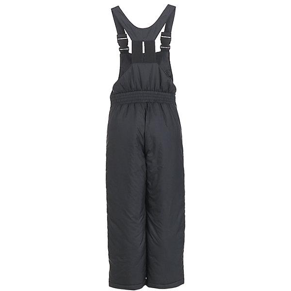 Полукомбинезон Button Blue для мальчикаВерхняя одежда<br>Характеристики товара:<br><br>• цвет: черный;<br>• состав: 100% полиэстер;<br>• подкладка: 100% полиэстер;<br>• утеплитель: 100% полиэстер, синтепон;<br>• сезон: зима;<br>• температурный режим: от 0 до -20С;<br>• застежка: молния;<br>• плащевая непромокаемая ткань;<br>• снегозащитные манжеты у штанин;<br>• эластичные и регулируемые подтяжки;<br>• страна бренда: Россия;<br>• страна изготовитель: Китай.<br><br>Зимний полукомбинезон для мальчика. Полукомбинезон на подтяжках, подтяжки эластичные и их можно регулировать. По низу штанин имеется внутренний снегозащитный манжет. <br><br>Полукомбинезон Button Blue (Баттон Блю) можно купить в нашем интернет-магазине.<br><br>Ширина мм: 215<br>Глубина мм: 88<br>Высота мм: 191<br>Вес г: 336<br>Цвет: черный<br>Возраст от месяцев: 96<br>Возраст до месяцев: 108<br>Пол: Мужской<br>Возраст: Детский<br>Размер: 134,98,128,122,116,110,104<br>SKU: 7039024
