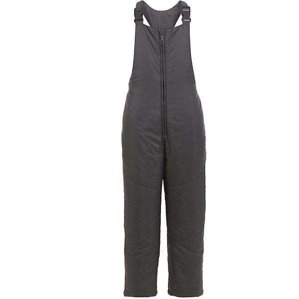 Полукомбинезон Button Blue для мальчикаВерхняя одежда<br>Характеристики товара:<br><br>• цвет: серый;<br>• состав: 100% полиэстер;<br>• подкладка: 100% полиэстер;<br>• утеплитель: 100% полиэстер, синтепон;<br>• сезон: зима;<br>• температурный режим: от 0 до -20С;<br>• застежка: молния;<br>• плащевая непромокаемая ткань;<br>• снегозащитные манжеты у штанин;<br>• эластичные и регулируемые лямки;<br>• страна бренда: Россия;<br>• страна изготовитель: Китай.<br><br>Зимний полукомбинезон для мальчика. Полукомбинезон на лямках, лямки эластичные и их можно регулировать. По низу штанин имеется внутренний снегозащитный манжет. <br><br>Полукомбинезон Button Blue (Баттон Блю) можно купить в нашем интернет-магазине.<br><br>Ширина мм: 215<br>Глубина мм: 88<br>Высота мм: 191<br>Вес г: 336<br>Цвет: темно-серый<br>Возраст от месяцев: 24<br>Возраст до месяцев: 36<br>Пол: Мужской<br>Возраст: Детский<br>Размер: 98,134,128,122,116,110,104<br>SKU: 7039032