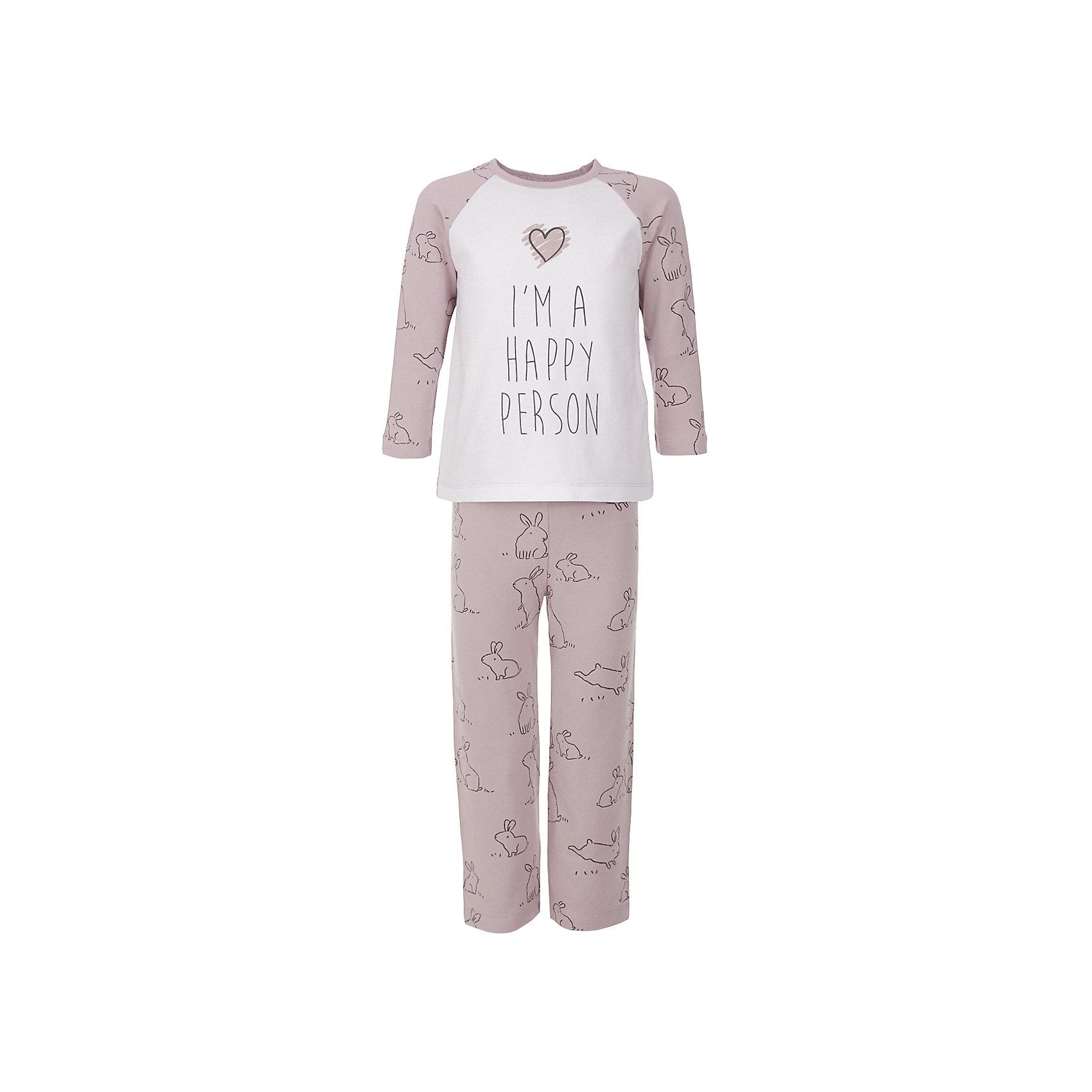 Пижама BUTTON BLUE для девочкиПижамы и сорочки<br>Пижама BUTTON BLUE для девочки<br>Уютная пижама с длинным рукавом - прекрасный комплект для комфортного сна и добрых сновидений. Если вы хотите сформировать бельевой гардероб ребенка из качественных, комфортных, приятных к телу вещей, вам стоит купить пижаму от Button Blue. Все трикотажные пижамы для девочек украшает крупный интересный  принт.<br>Состав:<br>95% хлопок           5% эластан<br><br>Ширина мм: 281<br>Глубина мм: 70<br>Высота мм: 188<br>Вес г: 295<br>Цвет: розовый<br>Возраст от месяцев: 132<br>Возраст до месяцев: 144<br>Пол: Женский<br>Возраст: Детский<br>Размер: 152,98,104,116,128,140<br>SKU: 7039306