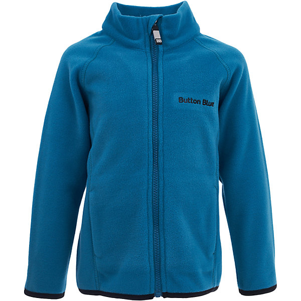 Куртка Button Blue для мальчикаФлис и термобелье<br>Характеристики товара:<br><br>• цвет: голубой;<br>• состав: 100% полиэстер, флис;<br>• сезон: демисезон, зима;<br>• застежка: молния с защитой подбородка;<br>• теплый, мягкий флис;<br>• мягкая эластичная резинка на манжетах;<br>• два кармана;<br>• страна бренда: Россия;<br>• страна изготовитель: Китай.<br><br>Флисовая толстовка на молнии для мальчика. Кофта застегивается на молнию с защитой подбородка от защемления. Спереди два кармана.<br><br>Кофту Button Blue (Баттон Блю) можно купить в нашем интернет-магазине.<br><br>Ширина мм: 356<br>Глубина мм: 10<br>Высота мм: 245<br>Вес г: 519<br>Цвет: бирюзовый<br>Возраст от месяцев: 36<br>Возраст до месяцев: 48<br>Пол: Мужской<br>Возраст: Детский<br>Размер: 104,152,158,98,110,116,122,128,134,140,146<br>SKU: 7039578