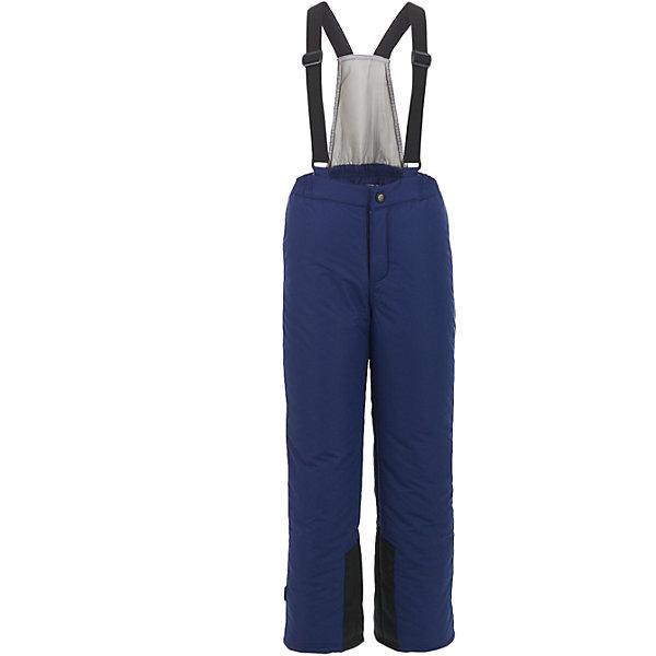 Брюки Button BlueВерхняя одежда<br>Характеристики товара:<br><br>• цвет: синий;<br>• состав: 100% полиэстер;<br>• подкладка: 100% полиэстер;<br>• утеплитель: 100% полиэстер;;<br>• сезон: зима;<br>• температурный режим: от +5 до -20С;<br>• застежка: ширинка на молнии и пуговица;<br>• гладкая подкладка из полиэстера;<br>• водонепроницаемые;<br>• высокая спинка;<br>• эластичные регулируемые подтяжки;<br>• подтяжки не съемные;<br>• снегозащитные манжеты внизу шатнин;<br>• страна бренда: Россия;<br>• страна изготовитель: Китай.<br><br>Детский полукомбинезон из мембранной плащевки – основа зимнего прогулочного гардероба ребенка. Основная задача этого изделия - водостойкость и сохранение тепла, и этот полукомбинезон с ней справится наилучшим образом. <br><br>Брюки Button Blue (Баттон Блю) можно купить в нашем интернет-магазине.<br><br>Ширина мм: 215<br>Глубина мм: 88<br>Высота мм: 191<br>Вес г: 336<br>Цвет: темно-синий<br>Возраст от месяцев: 132<br>Возраст до месяцев: 144<br>Пол: Унисекс<br>Возраст: Детский<br>Размер: 152,146,158,98,104,110,116,122,128,134,140<br>SKU: 7039666
