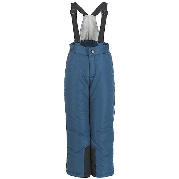 Брюки Button BlueВерхняя одежда<br>Характеристики товара:<br><br>• цвет: синий;<br>• состав: 100% полиэстер;<br>• подкладка: 100% полиэстер;<br>• утеплитель: 100% полиэстер;;<br>• сезон: зима;<br>• температурный режим: от +5 до -20С;<br>• застежка: ширинка на молнии и пуговица;<br>• гладкая подкладка из полиэстера;<br>• водонепроницаемые;<br>• высокая спинка;<br>• эластичные регулируемые подтяжки;<br>• подтяжки не съемные;<br>• снегозащитные манжеты внизу шатнин;<br>• страна бренда: Россия;<br>• страна изготовитель: Китай.<br><br>Детский полукомбинезон из мембранной плащевки – основа зимнего прогулочного гардероба ребенка. Основная задача этого изделия - водостойкость и сохранение тепла, и этот полукомбинезон с ней справится наилучшим образом. <br><br>Брюки Button Blue (Баттон Блю) можно купить в нашем интернет-магазине.<br><br>Ширина мм: 215<br>Глубина мм: 88<br>Высота мм: 191<br>Вес г: 336<br>Цвет: сине-серый<br>Возраст от месяцев: 24<br>Возраст до месяцев: 36<br>Пол: Унисекс<br>Возраст: Детский<br>Размер: 98,158,152,146,140,134,128,122,116,110,104<br>SKU: 7039702