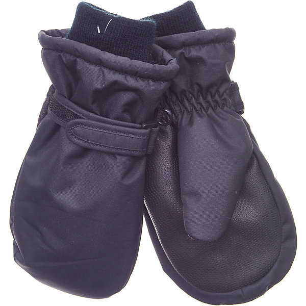 Варежки Button BlueПерчатки, варежки<br>Характеристики товара:<br><br>• цвет: черный;<br>• состав: 100% полиэстер;<br>• подкладка: 100% полиэстер;<br>• утеплитель: 100% полиэстер;;<br>• сезон: зима;<br>• температурный режим: от +5 до -20С;<br>• липучка-утяжка для защиты от ветра;<br>• усиленные вставки на ладно и больших пальцах;<br>• водонепроницаемые;<br>• мягкие трикотажные манжеты;<br>• страна бренда: Россия;<br>• страна изготовитель: Китай.<br><br>Непромокаемая плащевка, утяжка от продувания, протектор для прочности и износостойкости изделия позволят гулять в любую погоду, гарантируя тепло, уют и комфорт.<br><br>Варежки Button Blue (Баттон Блю) можно купить в нашем интернет-магазине.<br>Ширина мм: 162; Глубина мм: 171; Высота мм: 55; Вес г: 119; Цвет: черный; Возраст от месяцев: 12; Возраст до месяцев: 18; Пол: Унисекс; Возраст: Детский; Размер: 12,18,16,14; SKU: 7039724;