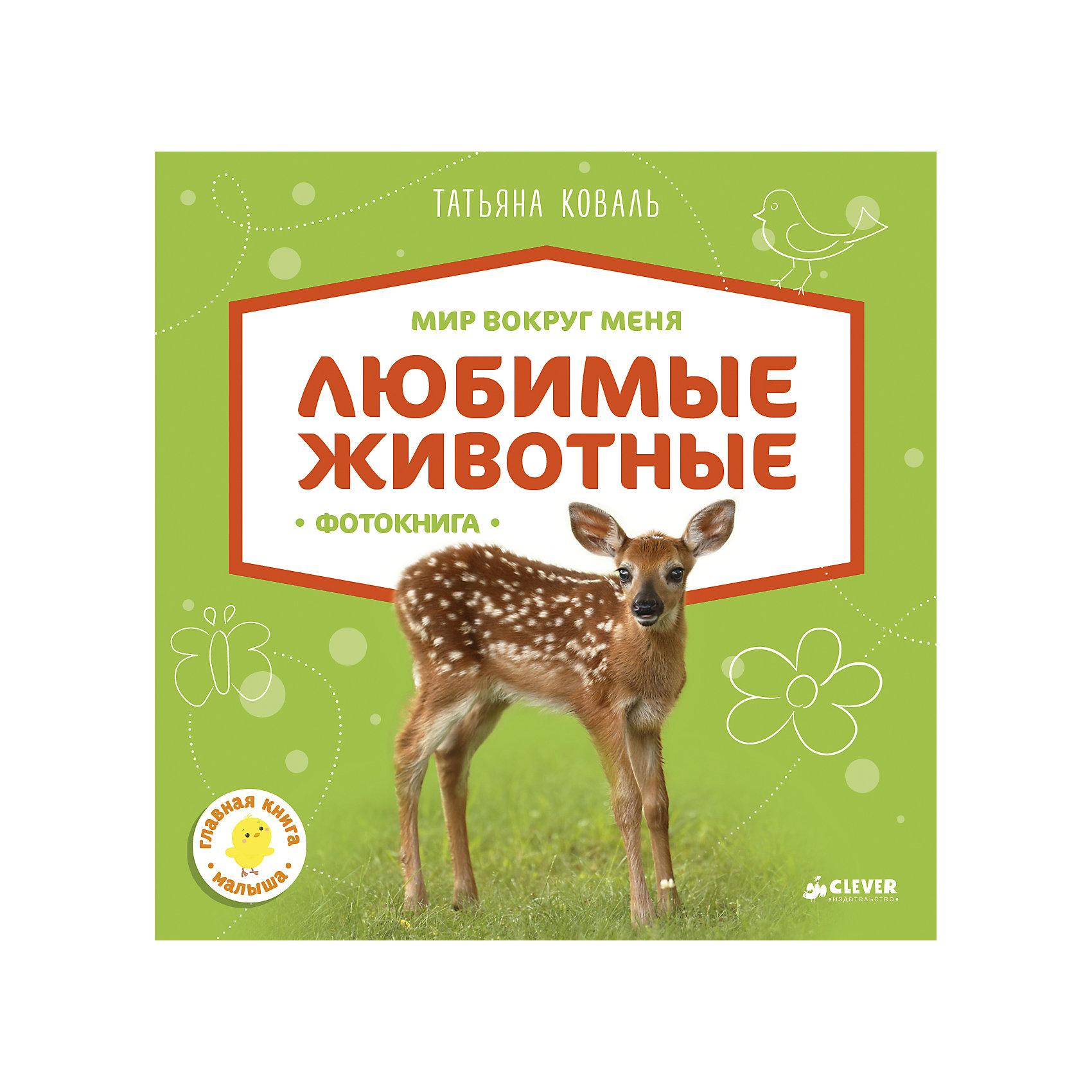 Фотокнига Любимые животные, Т. Коваль, Мир вокруг меняОкружающий мир<br>Характеристики товара:<br><br>• ISBN: 978-5-906951-59-5;<br>• возраст: от 1 года;<br>• формат: 84х108/16;<br>• бумага: картон;<br>• тип обложки: 7Бц - твердая, (плотная бумага или картон);<br>• оформление: пухлая обложка;<br>• иллюстрации: цветные;<br>• серия: Мир вокруг меня;<br>• издательство: Клевер Медиа Групп, 2017 г.;<br>• автор: Коваль Татьяна;<br>• редактор: Евдокимова Анастасия;<br>• количество страниц: 20;<br>• размеры: 20,8х20,4х2 см;<br>• масса: 396 г.<br><br>Красочная книга с красивыми фотографиями подходит для самых маленьких читателей. На страницах фотокниги дети увидят животных со всех уголков земного шара, выучат их названия, познакомятся с оттенками цветов и освоят первый счёт. На каждой странице есть веселый стишок про животных.<br><br>Книга предназначена для развивающих занятий с самого раннего возраста, помогает развивать речь, память, логику, внимание. Плотные картонные страницы легко переворачиваются и безопасны для ребенка. <br><br>Фотокнигу «Любимые животные», Коваль Т., Клевер Медиа Групп, можно купить в нашем интернет-магазине.<br><br>Ширина мм: 200<br>Глубина мм: 200<br>Высота мм: 12<br>Вес г: 414<br>Возраст от месяцев: 12<br>Возраст до месяцев: 36<br>Пол: Унисекс<br>Возраст: Детский<br>SKU: 7039977