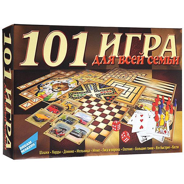 Настольная игра 101 игра New Dream makers