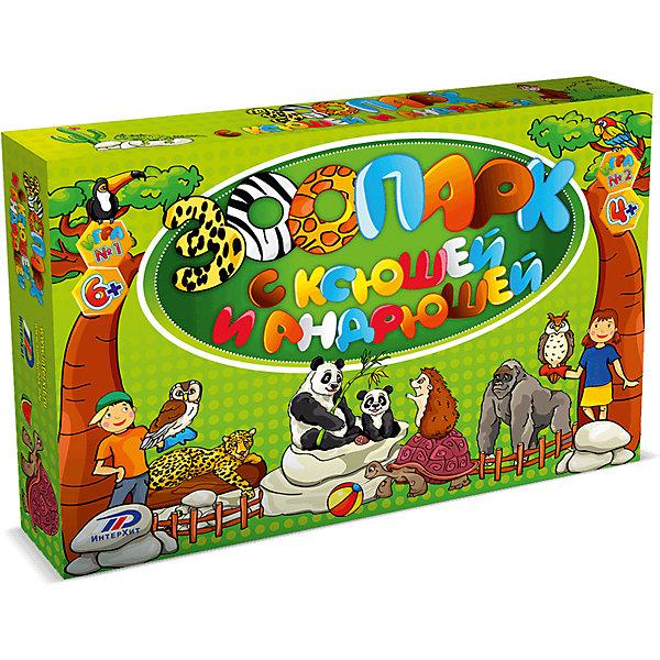 Настольная игра Зоопарк ИнтерХитОкружающий мир<br>На этот раз Ксюша и Андрюша решили посетить зоопарк и пополнить свои знания о животных, а заодно и развить зрительную память, концентрацию внимания, а главное весело и с пользой провести время!800 вопросов и ответов, которые содержатся в этой увлекательной игре, помогут детям не только узнать и полюбить животных, но и развить зрительную память, концентрацию внимания и логическое мышление.В коробке:Игровое поле - 1Вопросники - 40Карточки  Зрительная память - 2Фишки - 5Карточка Победитель ИнтерХит - 1Бегунок для фиксации номера вопроса - 2Правила игры - 1<br>Ширина мм: 340; Глубина мм: 50; Высота мм: 250; Вес г: 960; Возраст от месяцев: 48; Возраст до месяцев: 2147483647; Пол: Унисекс; Возраст: Детский; SKU: 7041197;