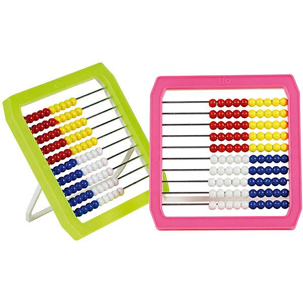 Счеты детские RIO PenSan, пластикПособия для обучения счёту<br>Тип: счеты<br>Материал корпуса: пластик<br>Размер: 160*160*12<br>Цвет: ассорти<br>Материал: пластик<br>Развивающее пособие для детей СЧЕТЫ- изготовлены из цветного пластика с  подставкой. Используются для обучения детей дошкольного и младшего школьного возраста арифметическим действиям. Развивают моторику. Красочный дизайн привносит в занятия игровой элемент.<br><br>Ширина мм: 160<br>Глубина мм: 158<br>Высота мм: 11<br>Вес г: 113<br>Возраст от месяцев: 60<br>Возраст до месяцев: 2147483647<br>Пол: Унисекс<br>Возраст: Детский<br>SKU: 7044140