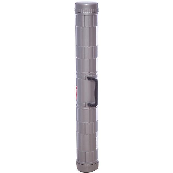 Тубус А1 Стамм, с ручкой, серыйЧертежные принадлежности<br>Длина: 68<br>Диаметр: 90<br>Материал: пластик<br>Цвет: серый<br>Наличие ремня: нет<br>Наличие ручки: есть<br>Телескопический: нет<br>Упаковка ед. товара: отсутствует<br>Тубус — идеальное средство для хранения чертежа в процессе его переноски.<br><br>Ширина мм: 650<br>Глубина мм: 85<br>Высота мм: 85<br>Вес г: 274<br>Возраст от месяцев: 84<br>Возраст до месяцев: 2147483647<br>Пол: Унисекс<br>Возраст: Детский<br>SKU: 7044163
