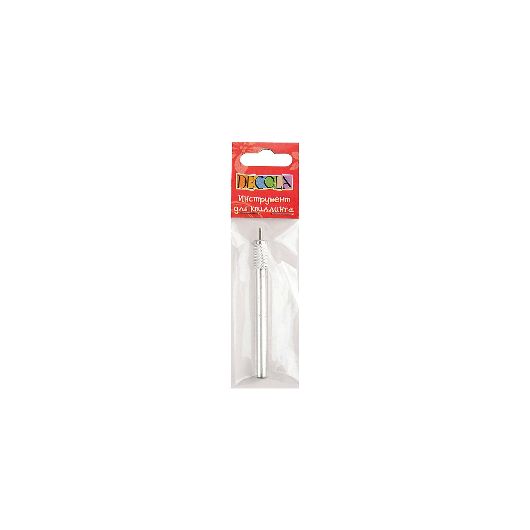 Инструмент для квиллинга DecolaБумага<br>Назначение: для квиллинга<br>Тип: инструмент для квиллинга<br>Материал: металл<br>Количество предметов: 1<br>Возраст: старше 5 лет<br>Упаковка ед. товара: пакет с европодвесом<br>Инструмент для квиллинга Decola предназначен для подкручивания элементов.<br><br>Ширина мм: 100<br>Глубина мм: 35<br>Высота мм: 10<br>Вес г: 15<br>Возраст от месяцев: 84<br>Возраст до месяцев: 2147483647<br>Пол: Унисекс<br>Возраст: Детский<br>SKU: 7044178